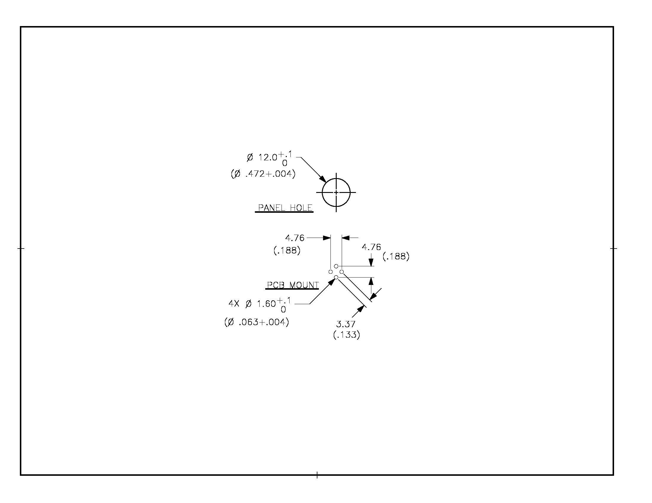 Cal Test Electronics CT3151V1 Banana Jack PCB Mount (vertical) Photo