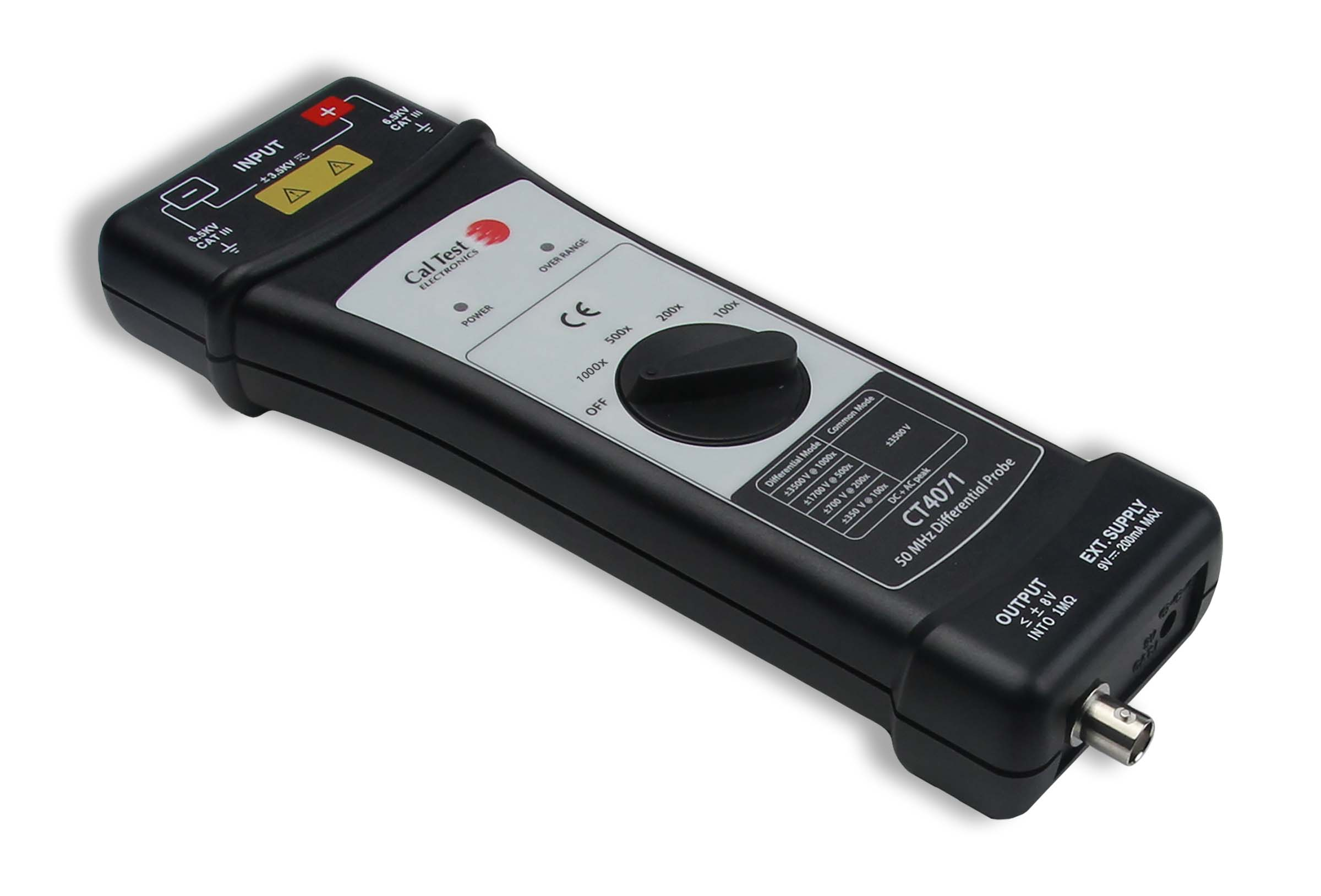 Cal Test Electronics CT4071 50 MHz Differential Probe Photo