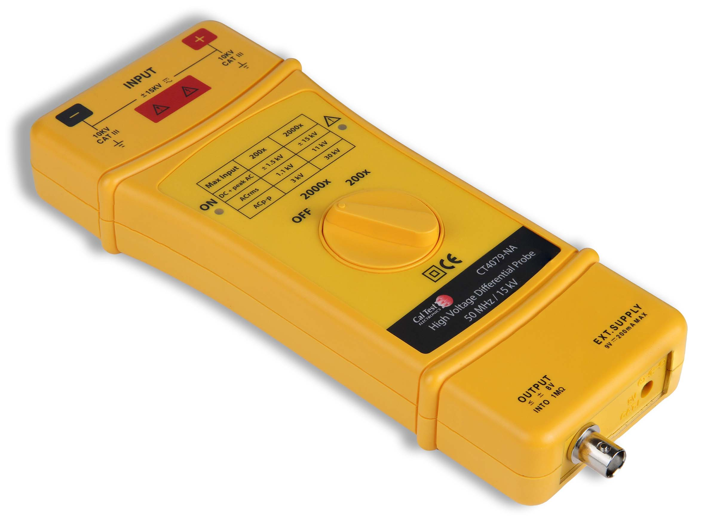 Cal Test Electronics CT4079 50 MHz Differential Probe Photo