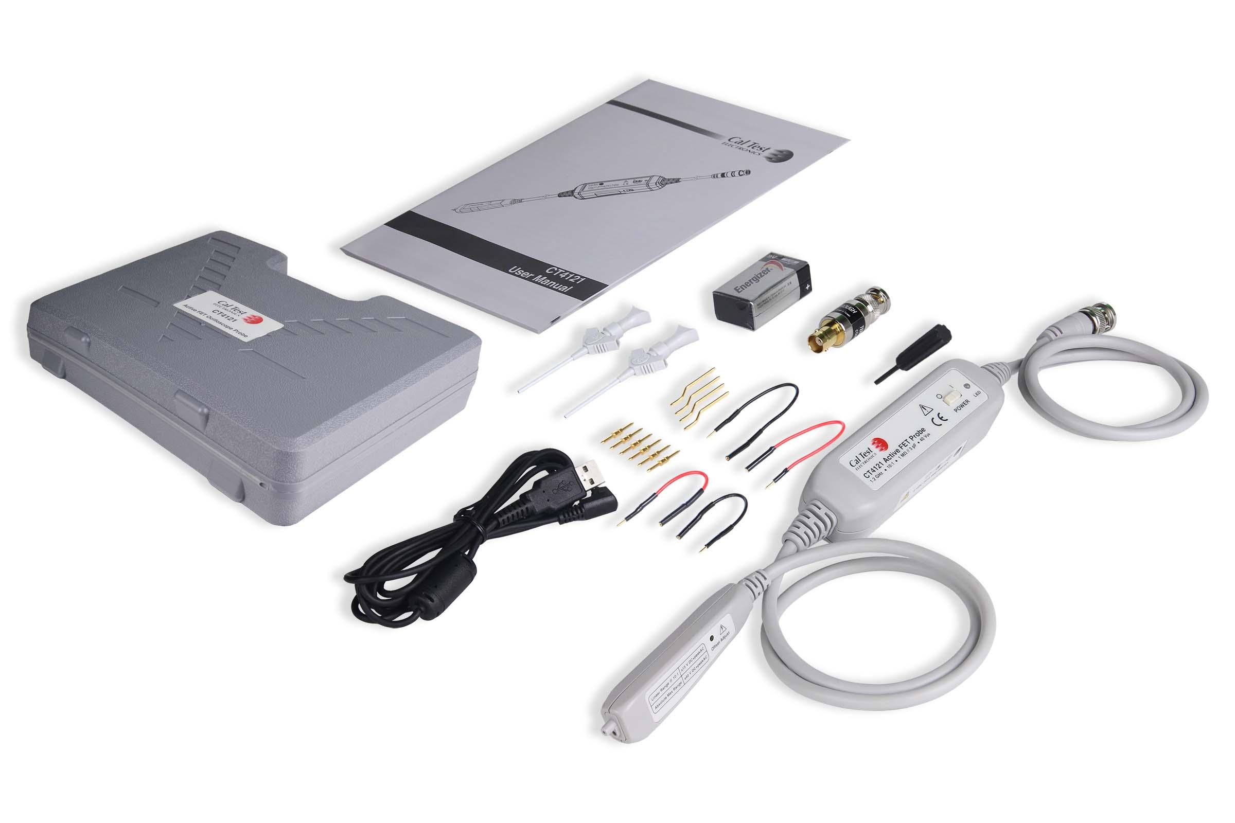 Cal Test Electronics CT4121 Active FET Probe Kit 1.2 GHz, 10x, ±40 V Photo