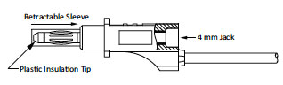 Stacking Retractable Sheath Banana Plug Diagram