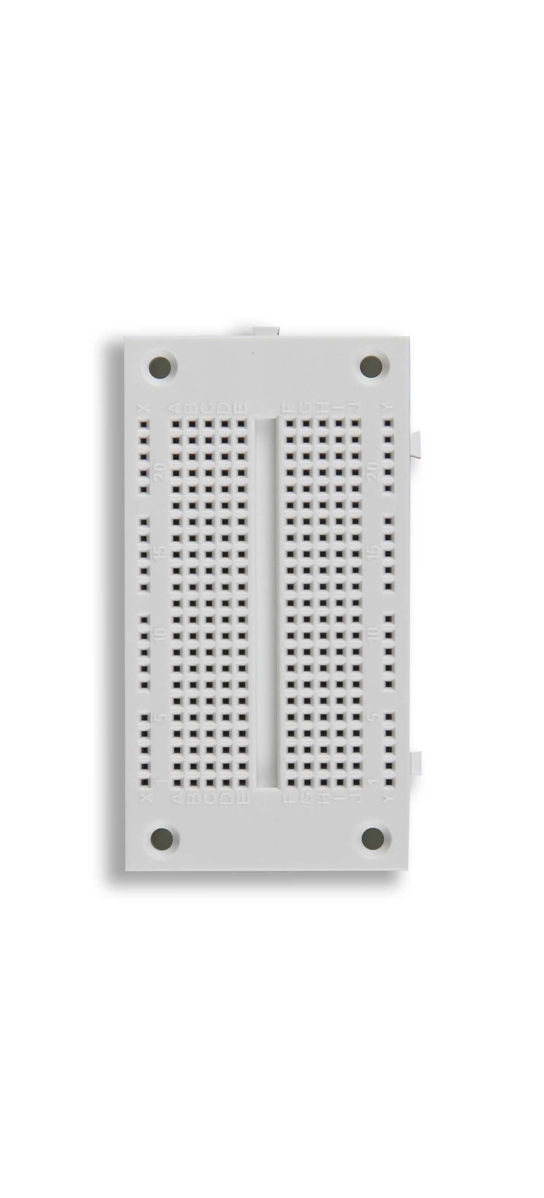 Click to preview image for the Global Specialties EXP-350E Solderless Breadboard, 270 Tie-Points