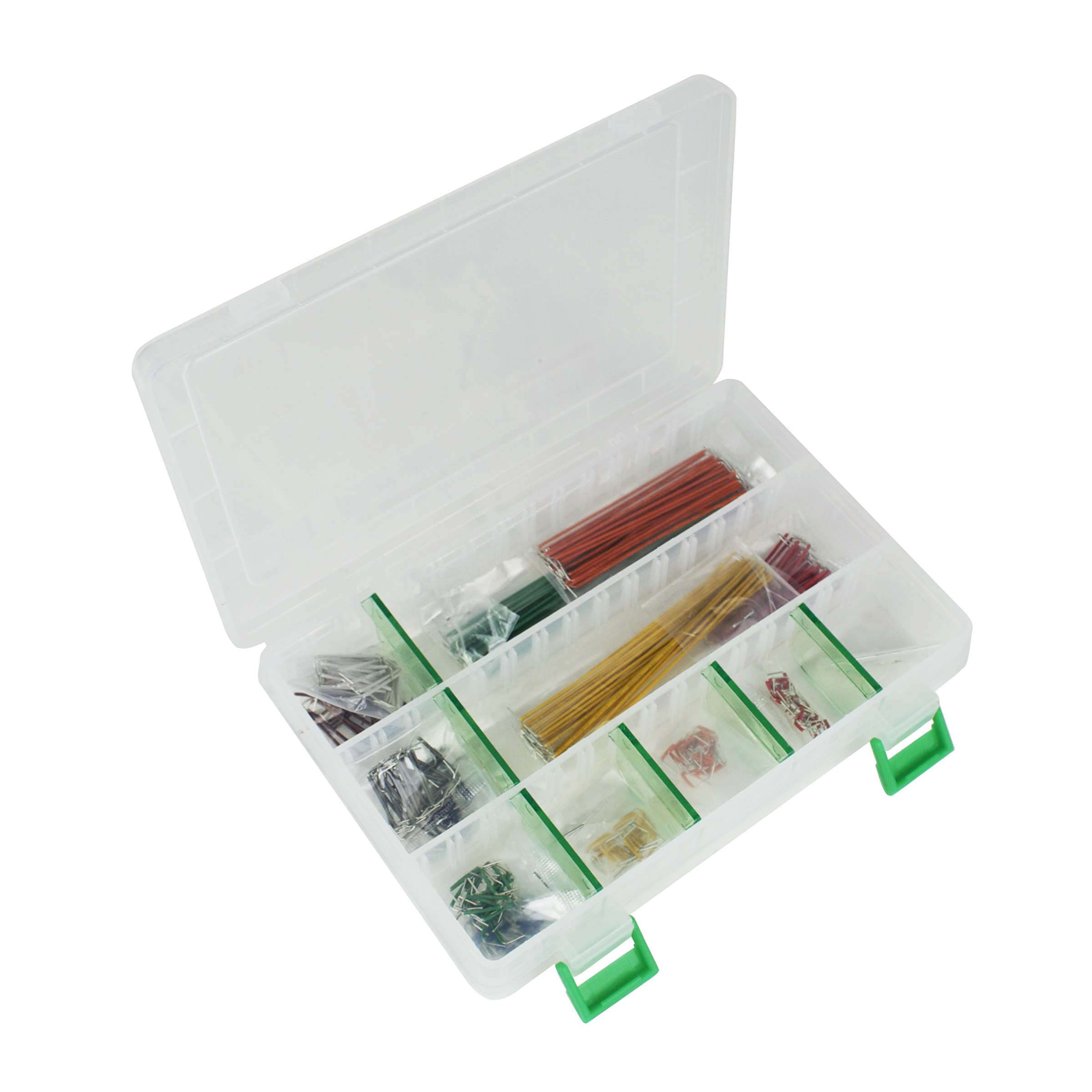Click to preview image for the Global Specialties WK-1 Jumper Wire Kit, 350 Pcs