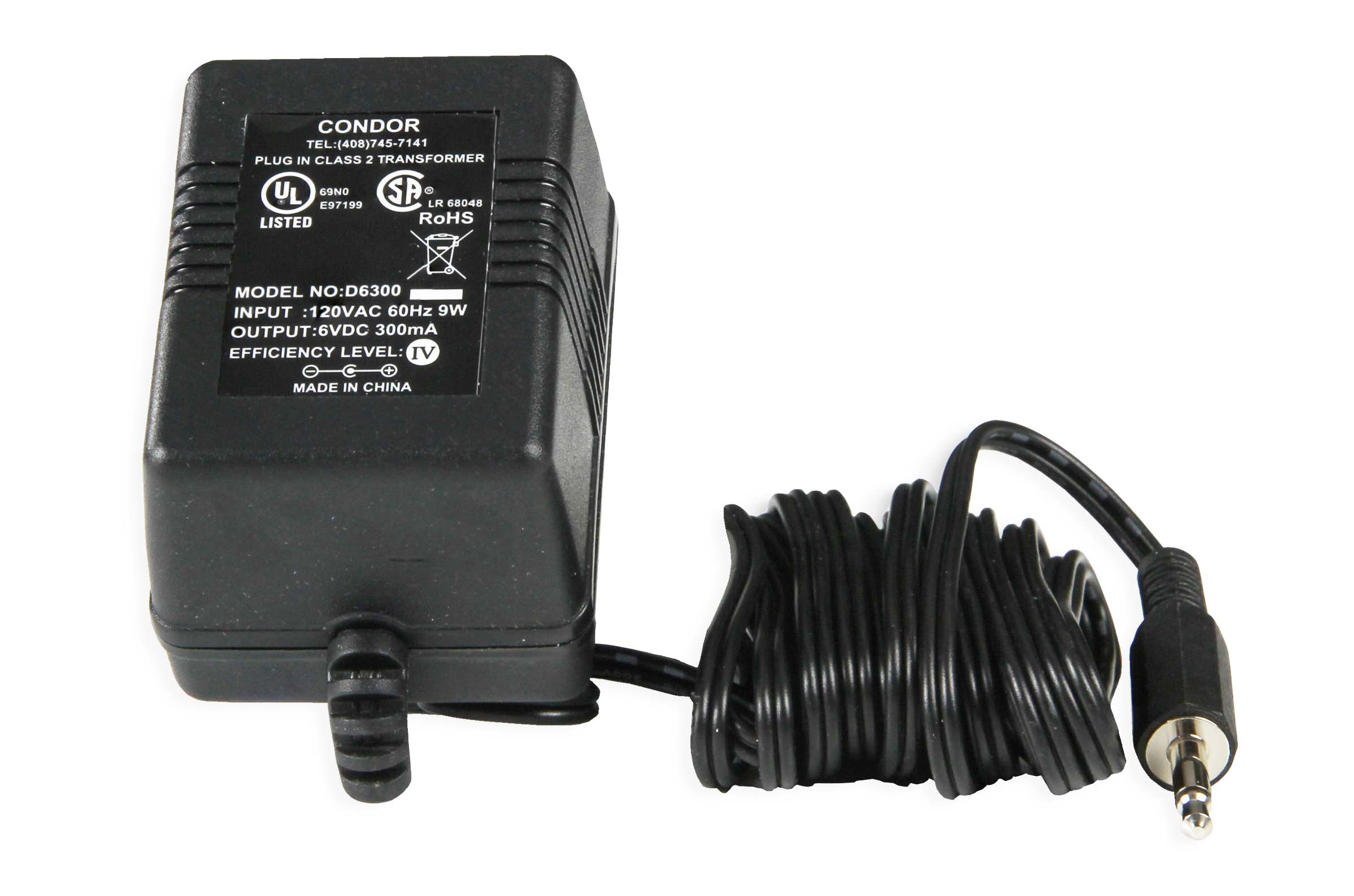Global Specialties LD-1-PB-501 AC Adapter