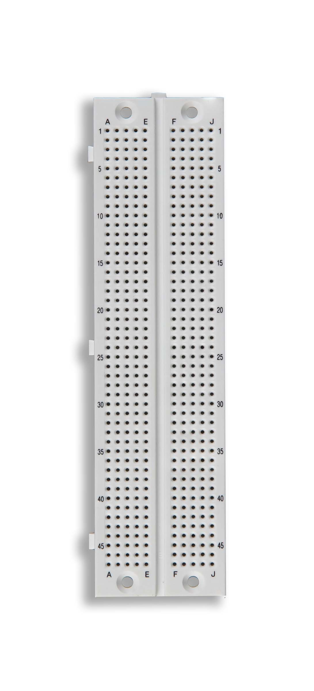 Click to preview image for the Global Specialties GS-470 Solderless Breadboard, 470 Tie-Points