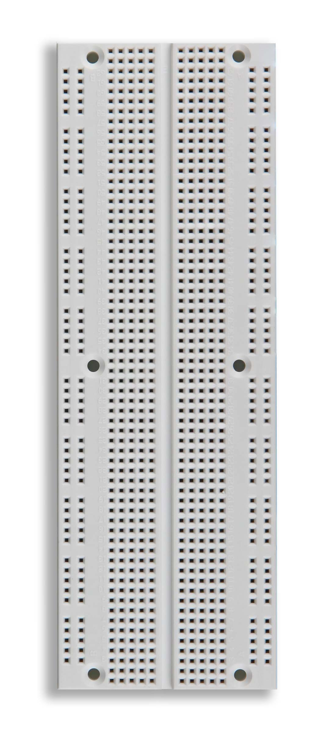 Global Specialties UBS-100 Solderless Breadboard, 840 Tie-Points