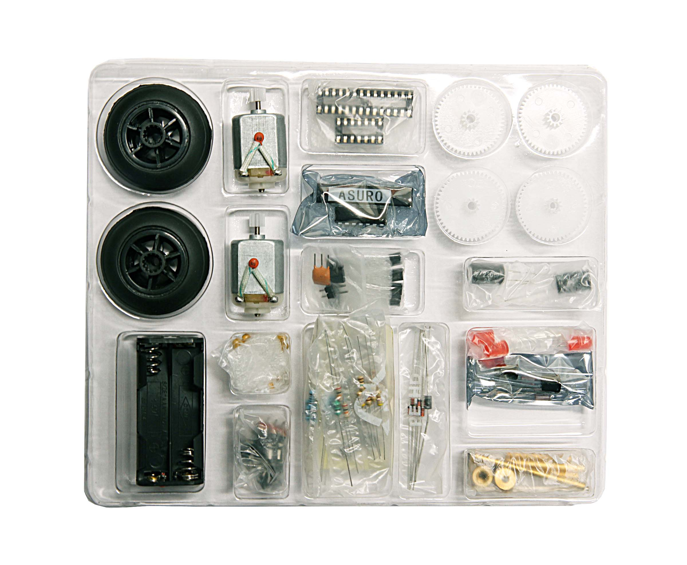 Click to preview image for the Global Specialties ARX-PARTS ARX Robot Spare Parts Kit