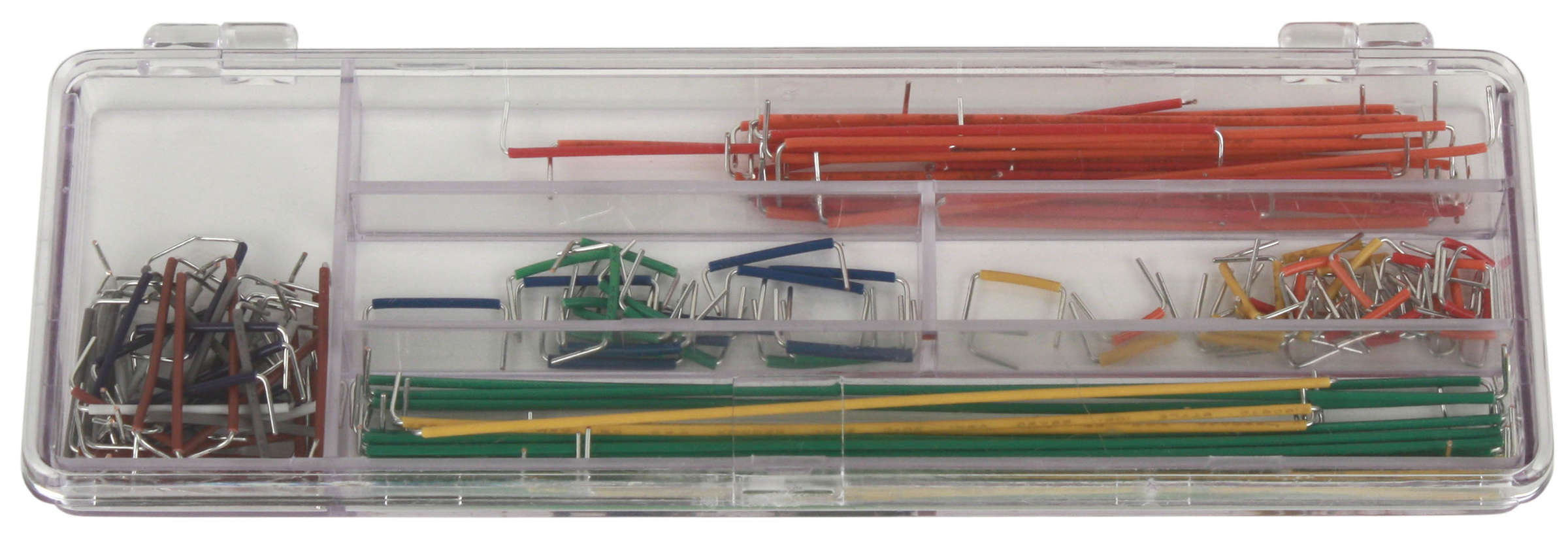 Click to preview image for the Global Specialties WK-2 Jumper Wire Kit, 140 Pcs