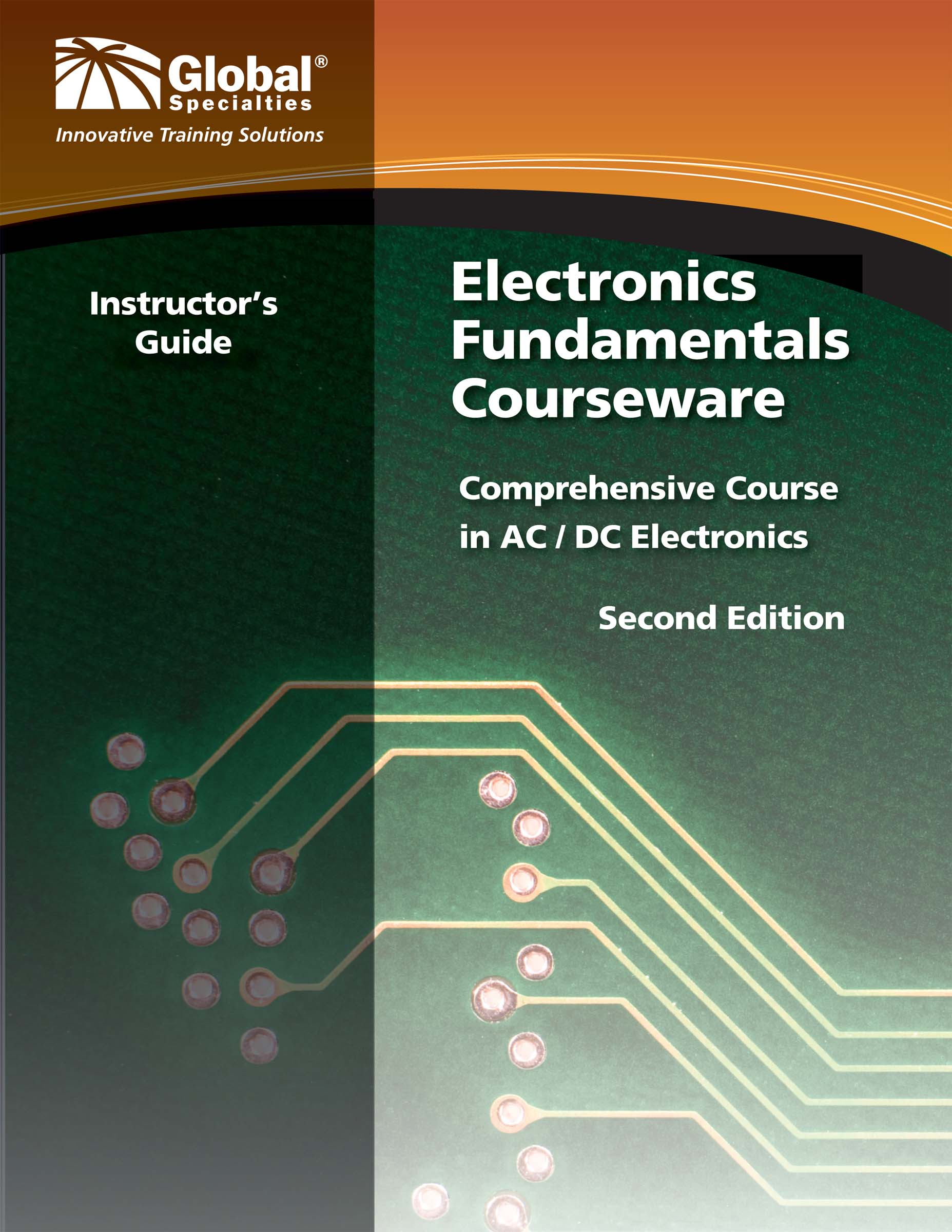Click to preview image for the Global Specialties GSC-2302 Electronics Fundamentals Instructor's Guide