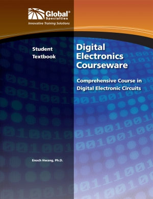 Click to preview image for the Global Specialties GSC-3200 Digital Electronics Student Text
