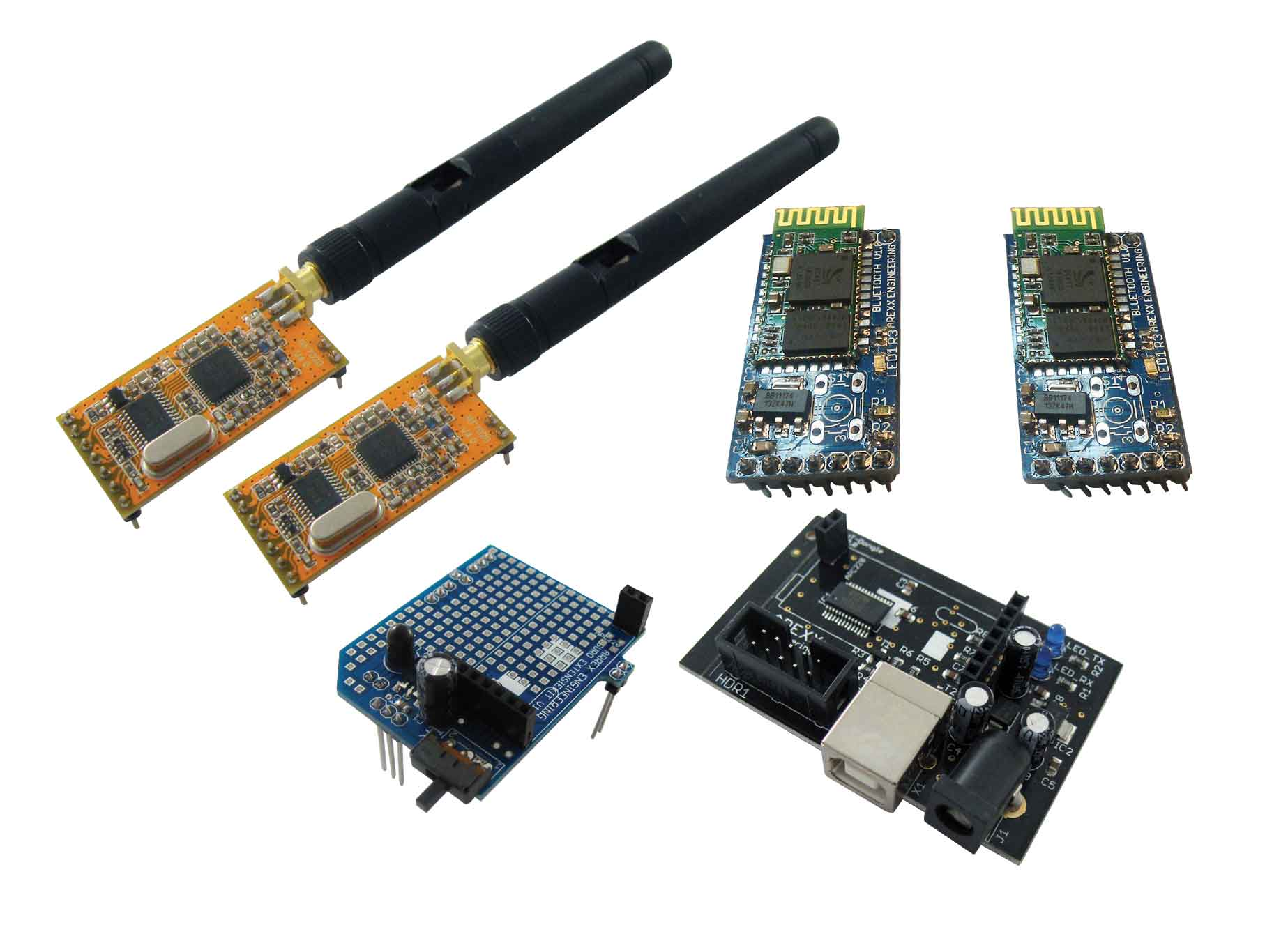 Click to preview image for the Global Specialties ARX-WRL ARX Advanced Wireless Kit