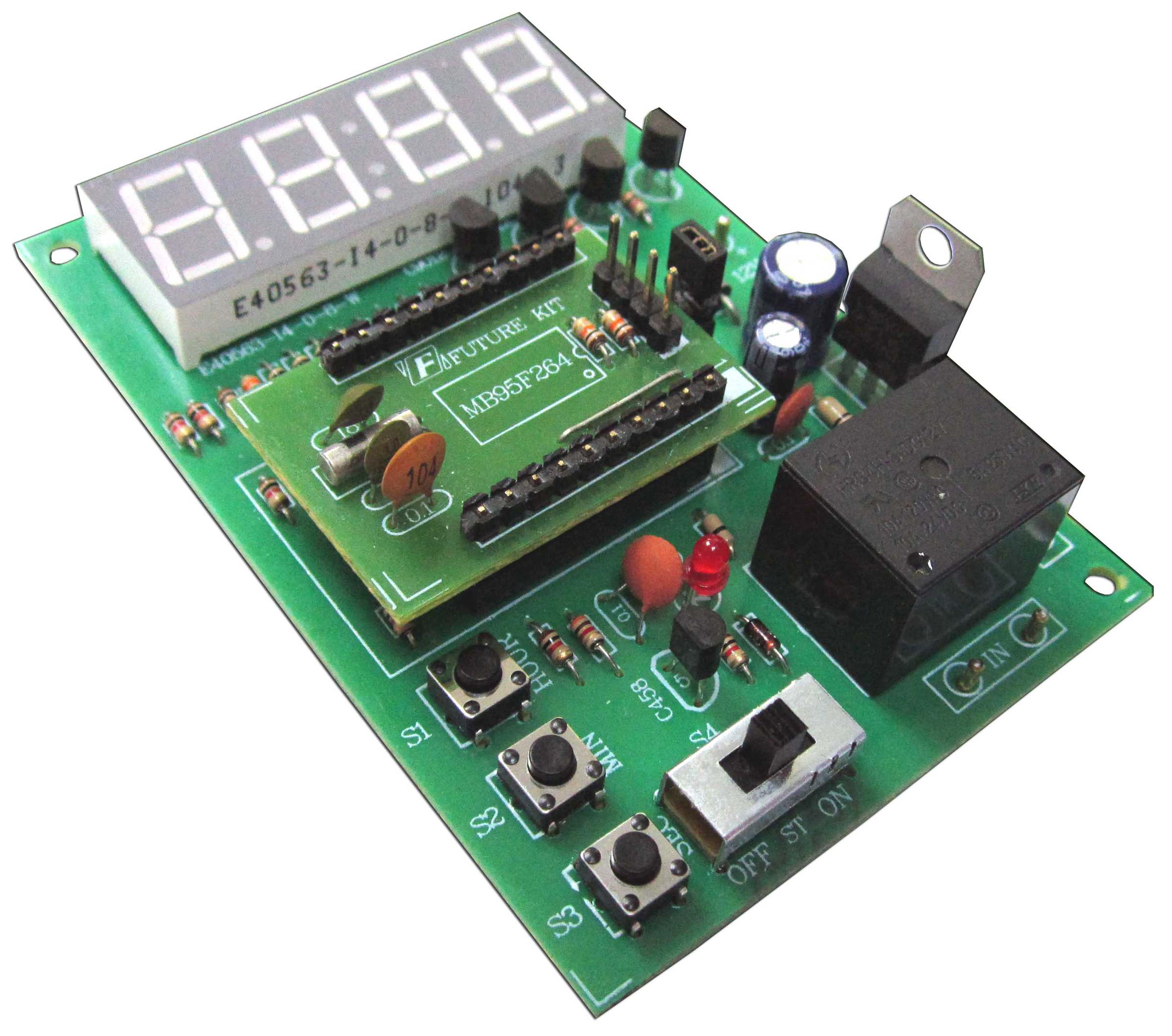 Click to preview image for the Global Specialties GSK-444 Digital Multifunction Timer Switch Kit