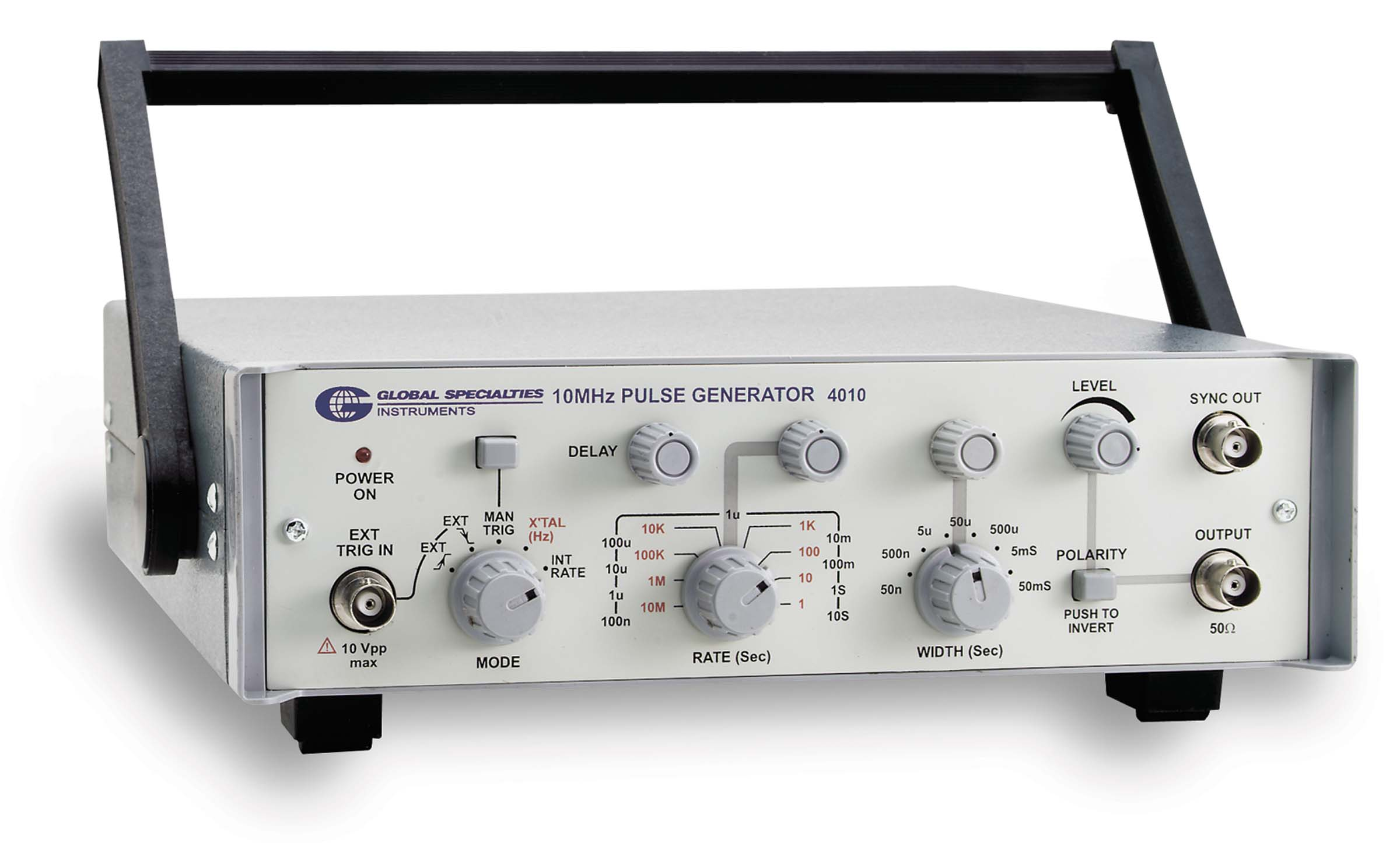 Global Specialties 4010 10 MHz Pulse Generator