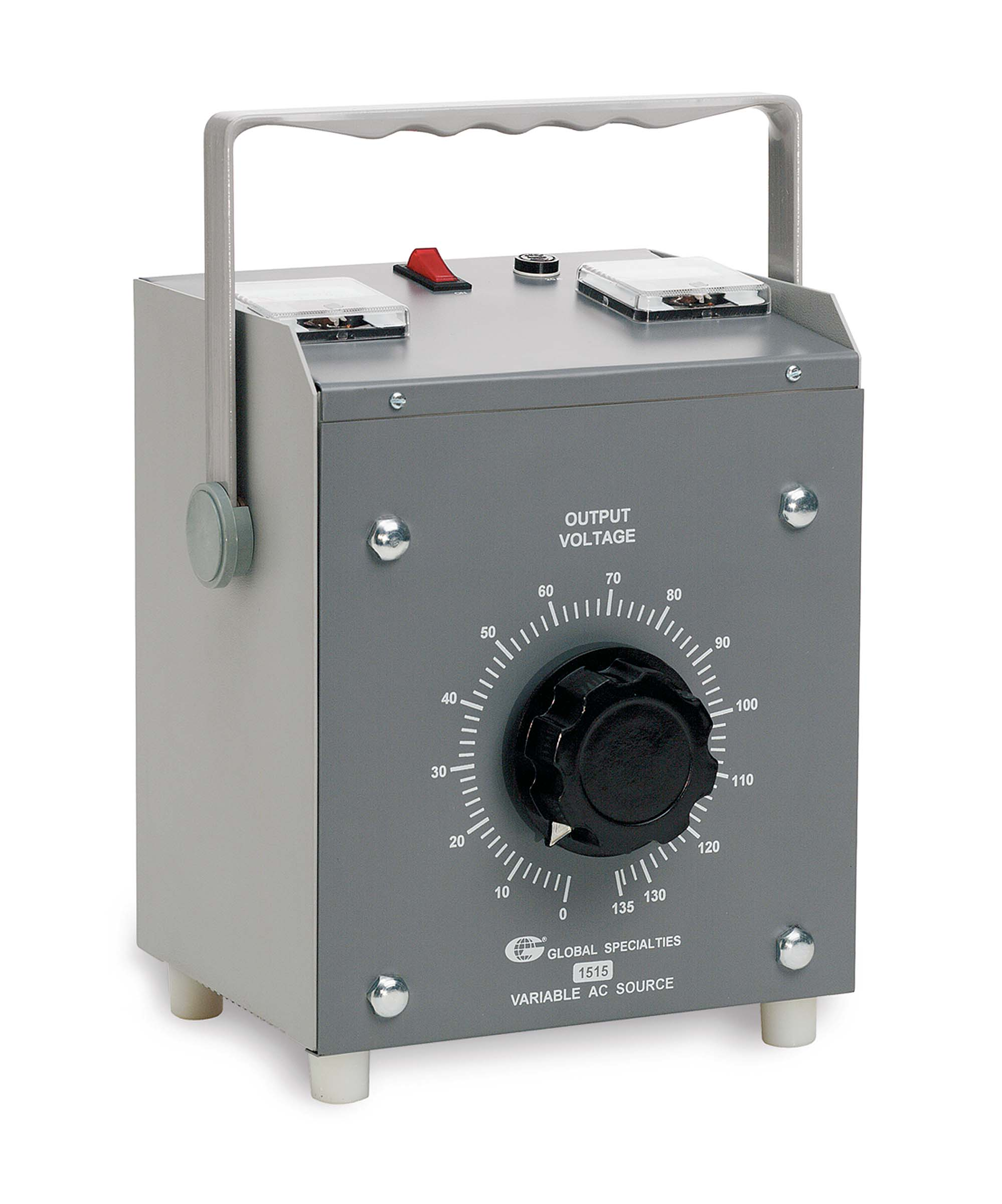 Click to preview image for the Global Specialties 1515 Variable AC Power Supply: 0-130V, 15A