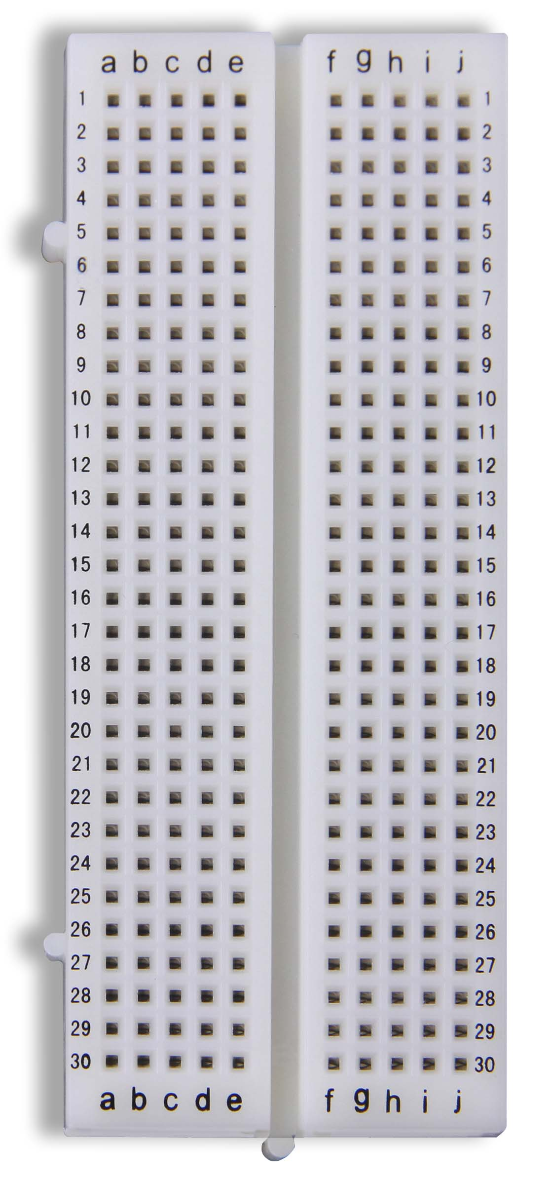 Breadboards Singles Breadboard Circuit Detail The Global Specialties Gs 300 Has Tie Points And Offers Unlimited Design Expansion Though Its Unique Molded In Interlocking Edge Rails
