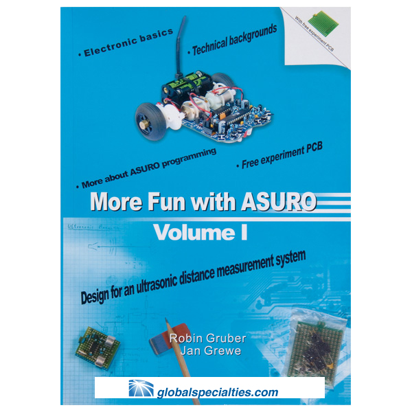 Global Specialties ARX-BOOK More Fun With ASURO Volume 1
