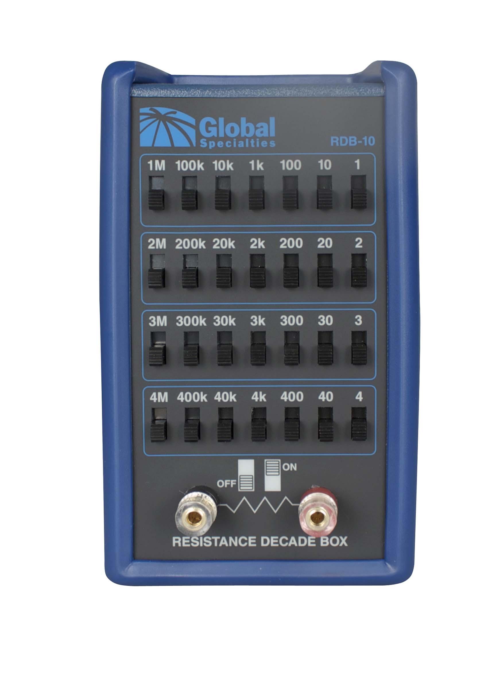 Global Specialties RDB-10 Resistance Decade Box Photo