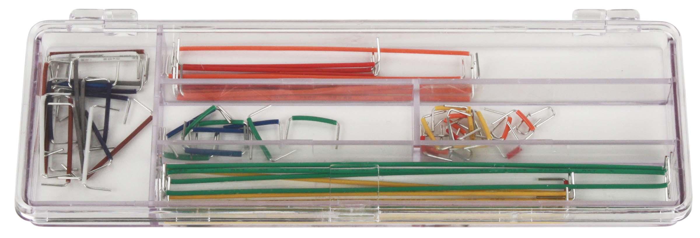 Global Specialties WK-3 Jumper Wire Kit, 70 Pcs Photo