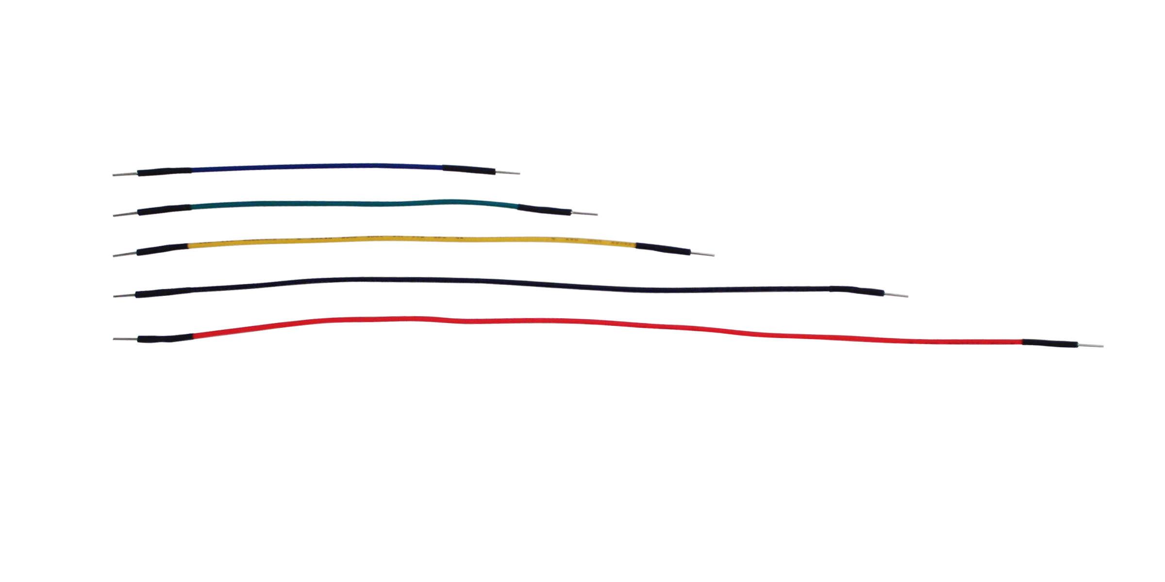 Global Specialties WK-4 Jumper Wire Kit, 100 Pcs Photo