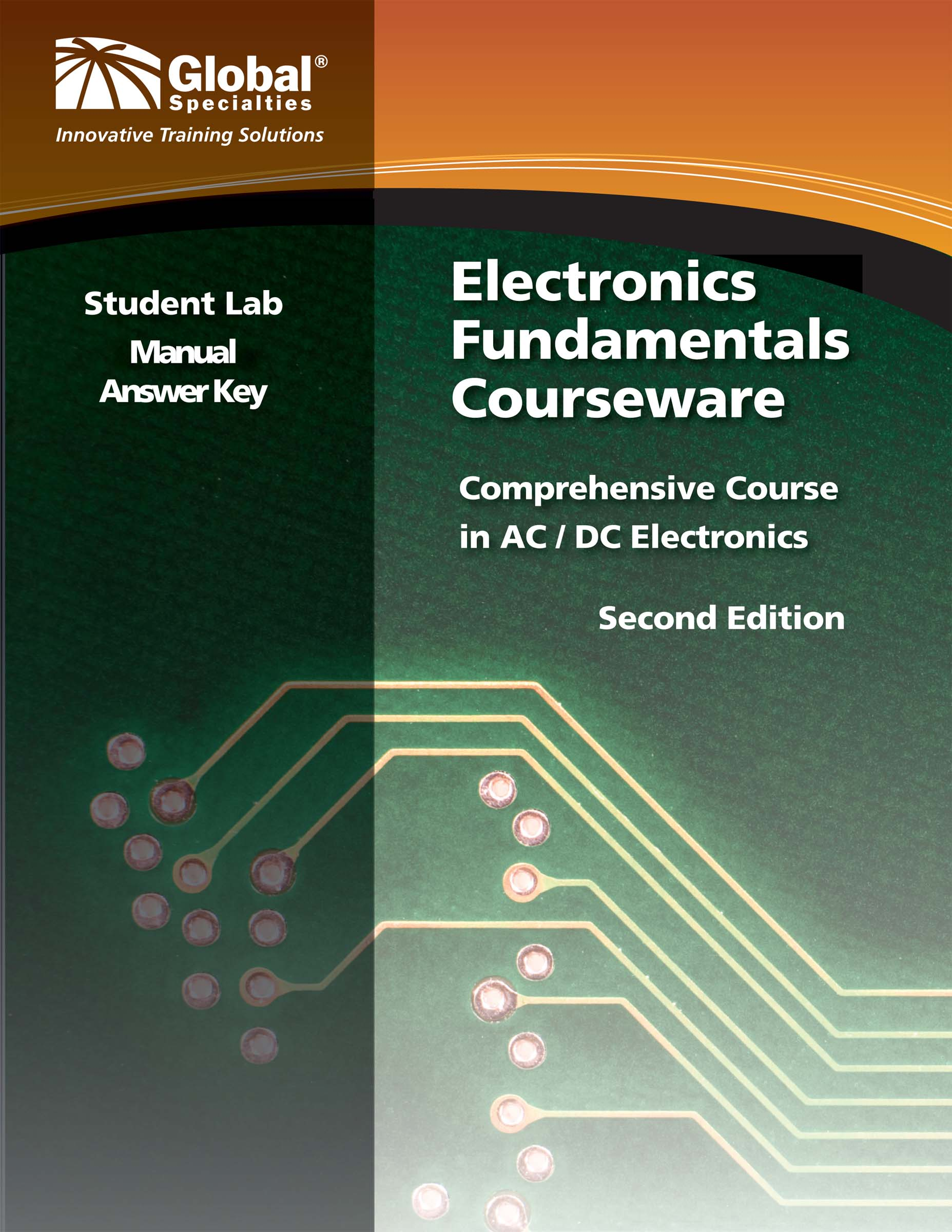Global Specialties GSC-2312 Electronics Fundamentals Student Lab Manual Answer Key Photo