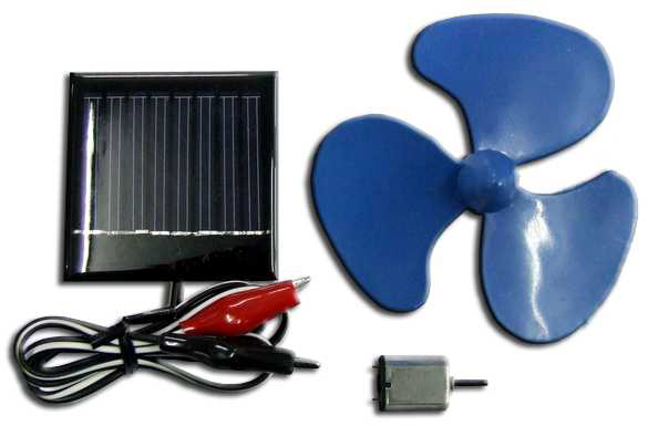 Global Specialties GSK-1001 Solar Fan Kit Photo