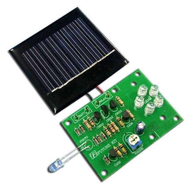 Global Specialties GSK-1004 Solar LED Night Light Kit Photo