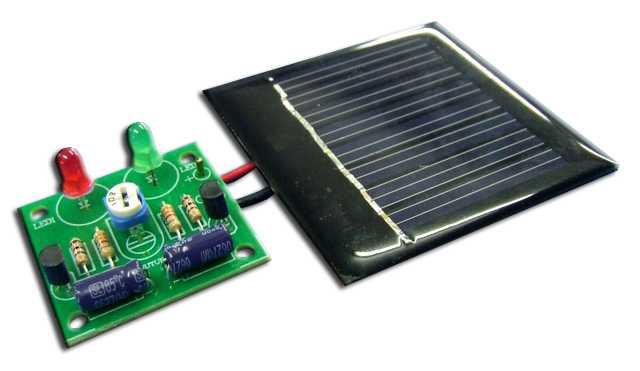 Global Specialties GSK-1005 Solar LED Blinking Light Kit Photo