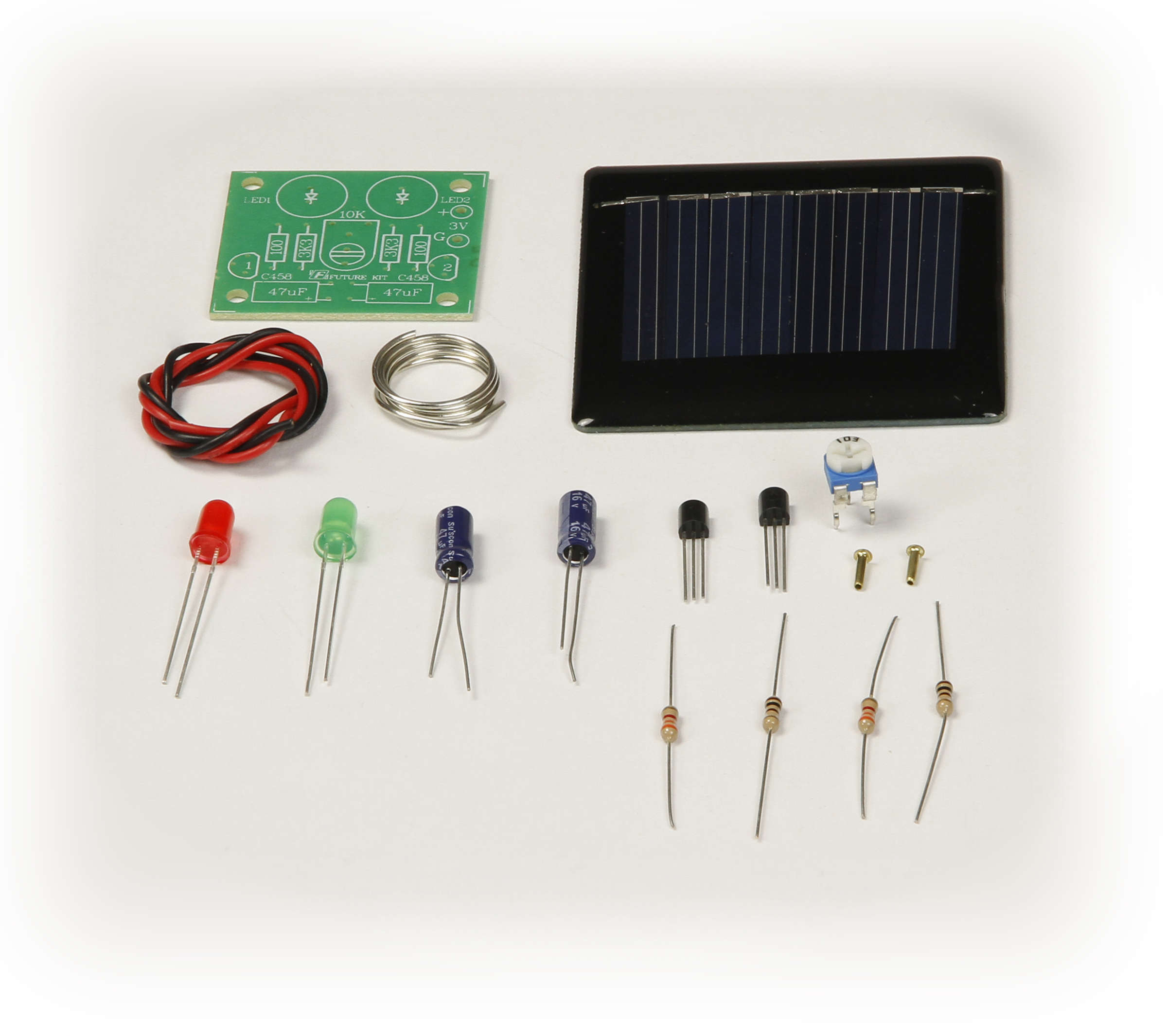 Gsk 1005 Solar Led Blinking Light Kit Blinked To Blink An You Need Some Kind Of Electronic Circuit Global Specialties Photo