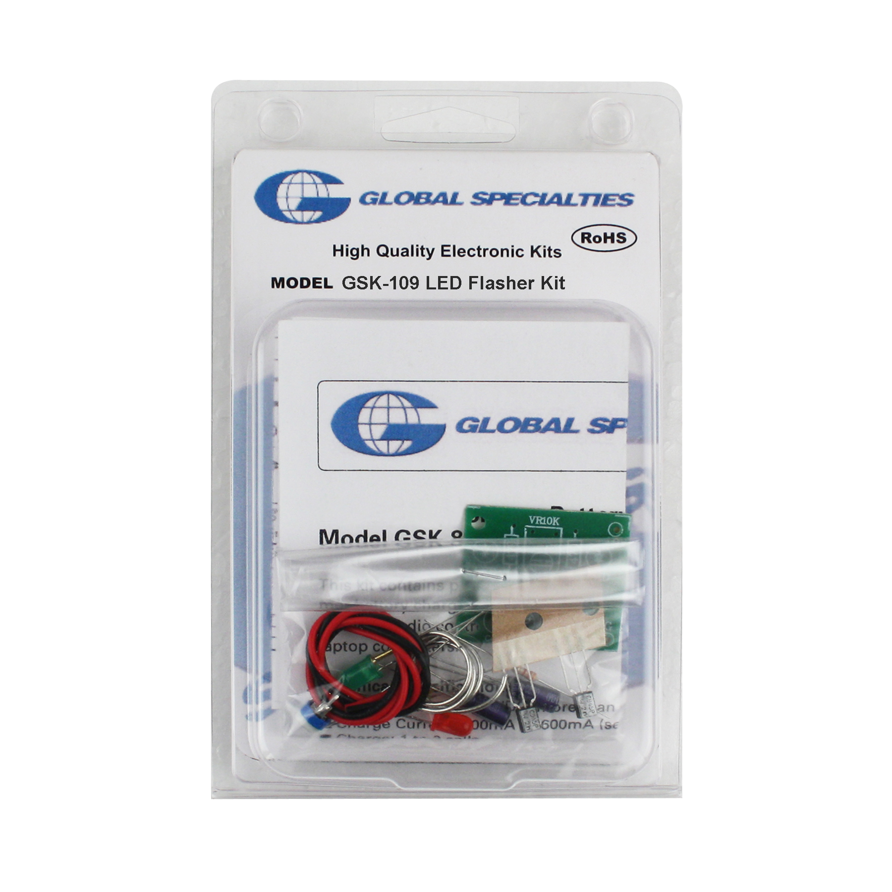 Global Specialties GSK-109 LED Flashing Lights Kit Photo