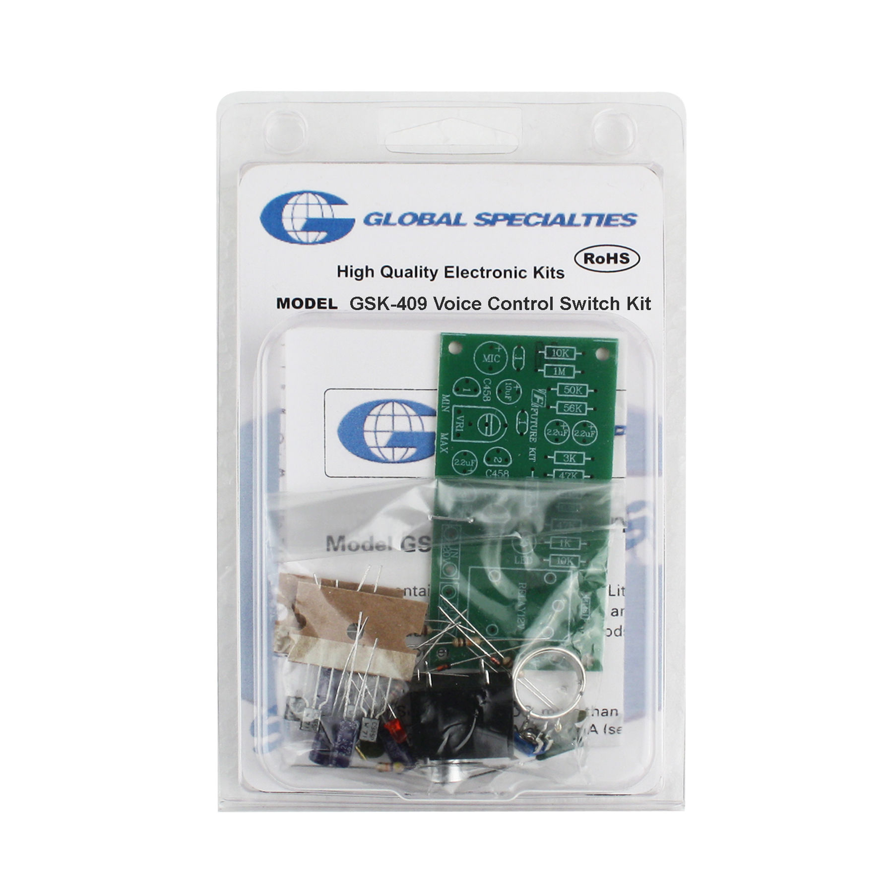 Global Specialties GSK-409 Sound Activated Control Switch Kit Photo