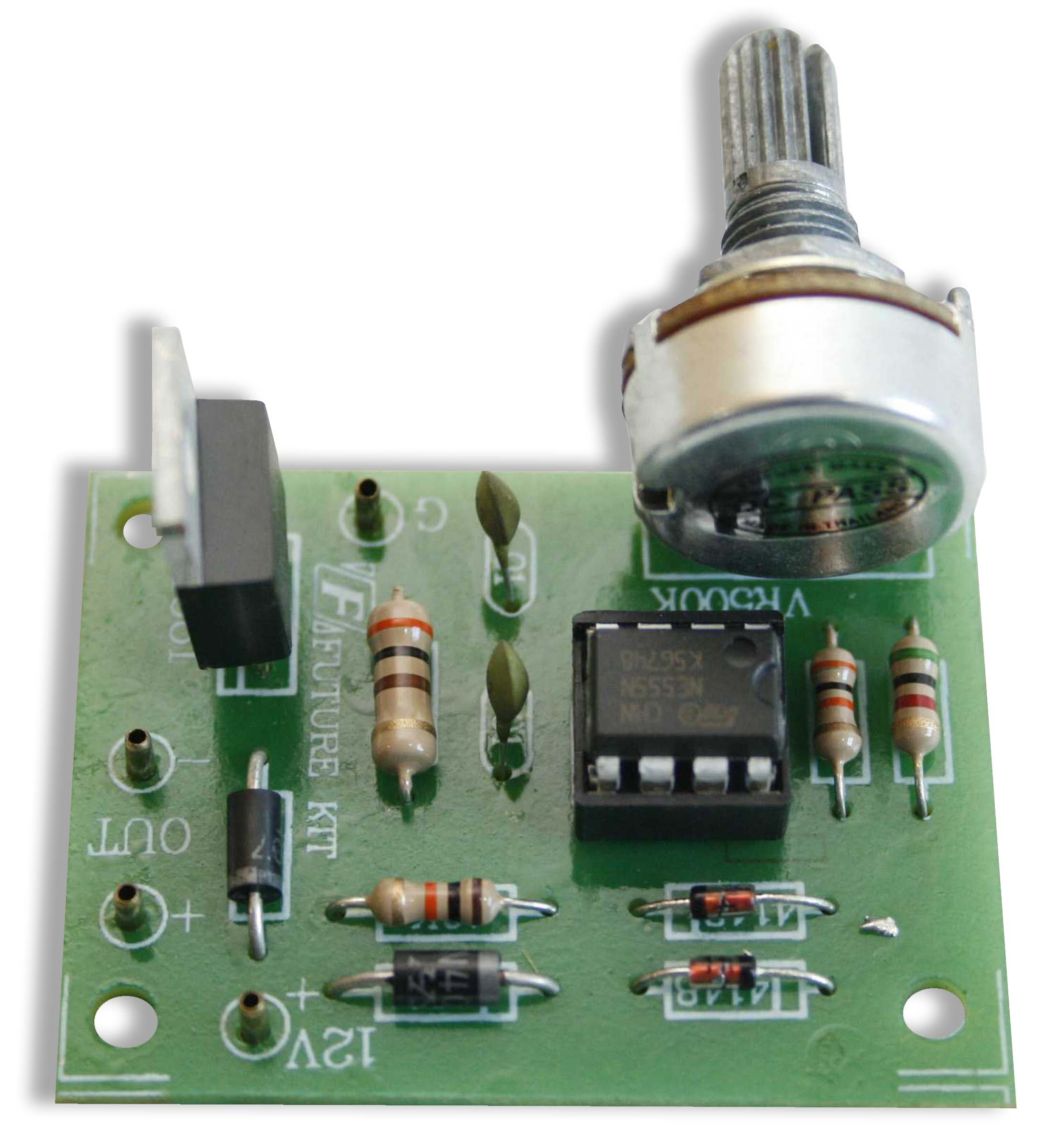 Global Specialties GSK-804 PWM DC Motor Speed Control Kit Photo