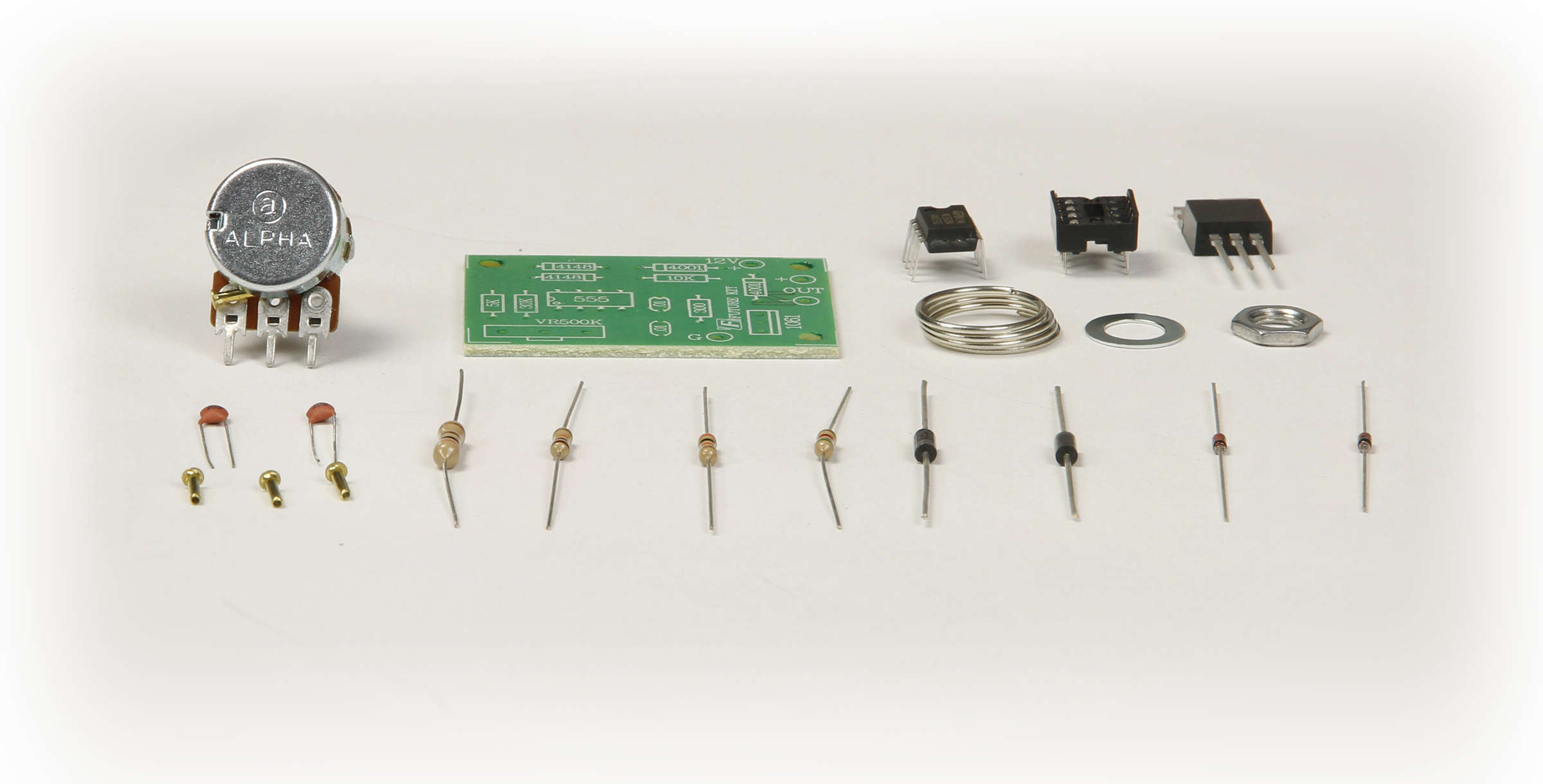 Gsk 804 Pwm Dc Motor Speed Control Kit Electronic Controller Circuit Global Specialties Photo