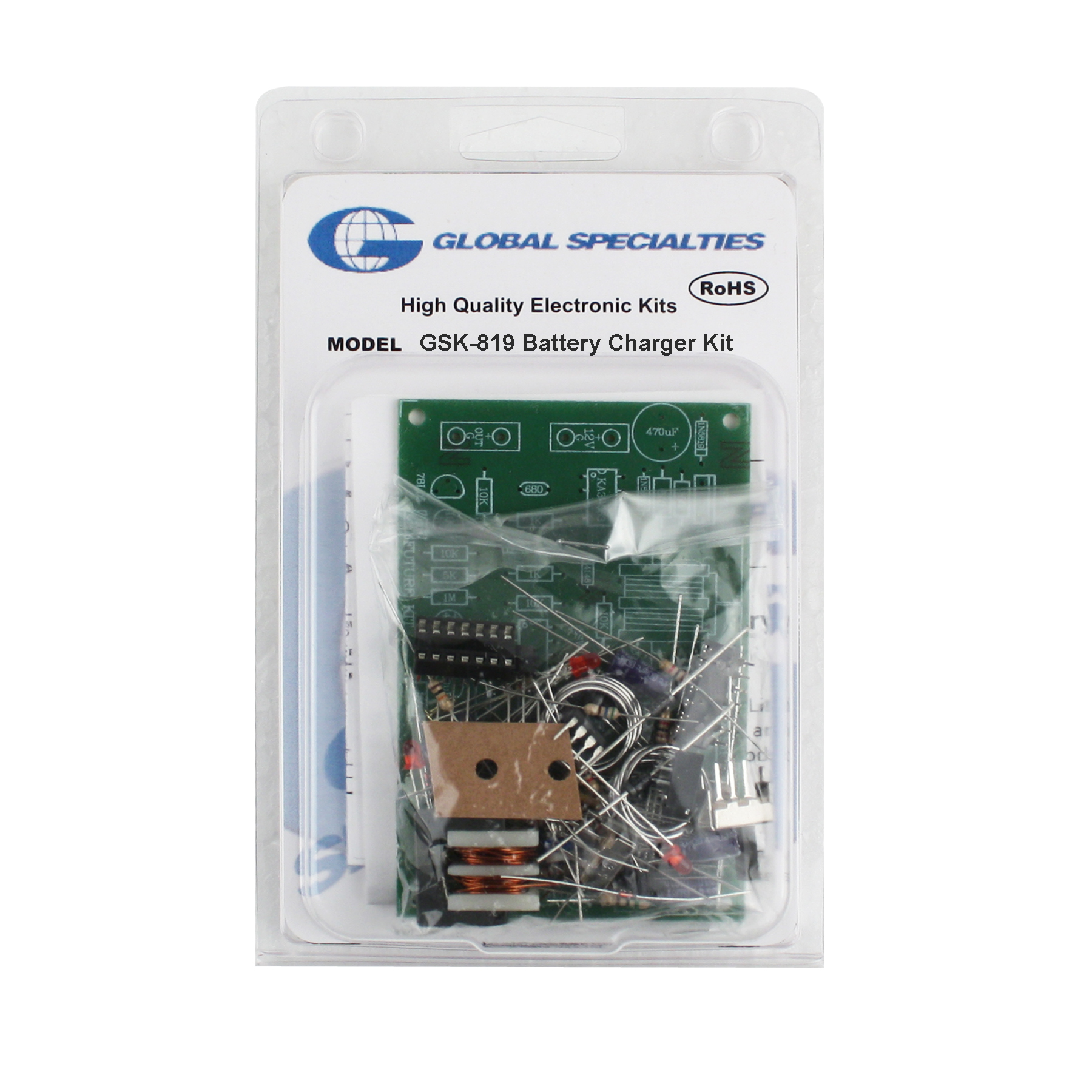 Global Specialties GSK-819 LiPo Battery Charger Kit Photo