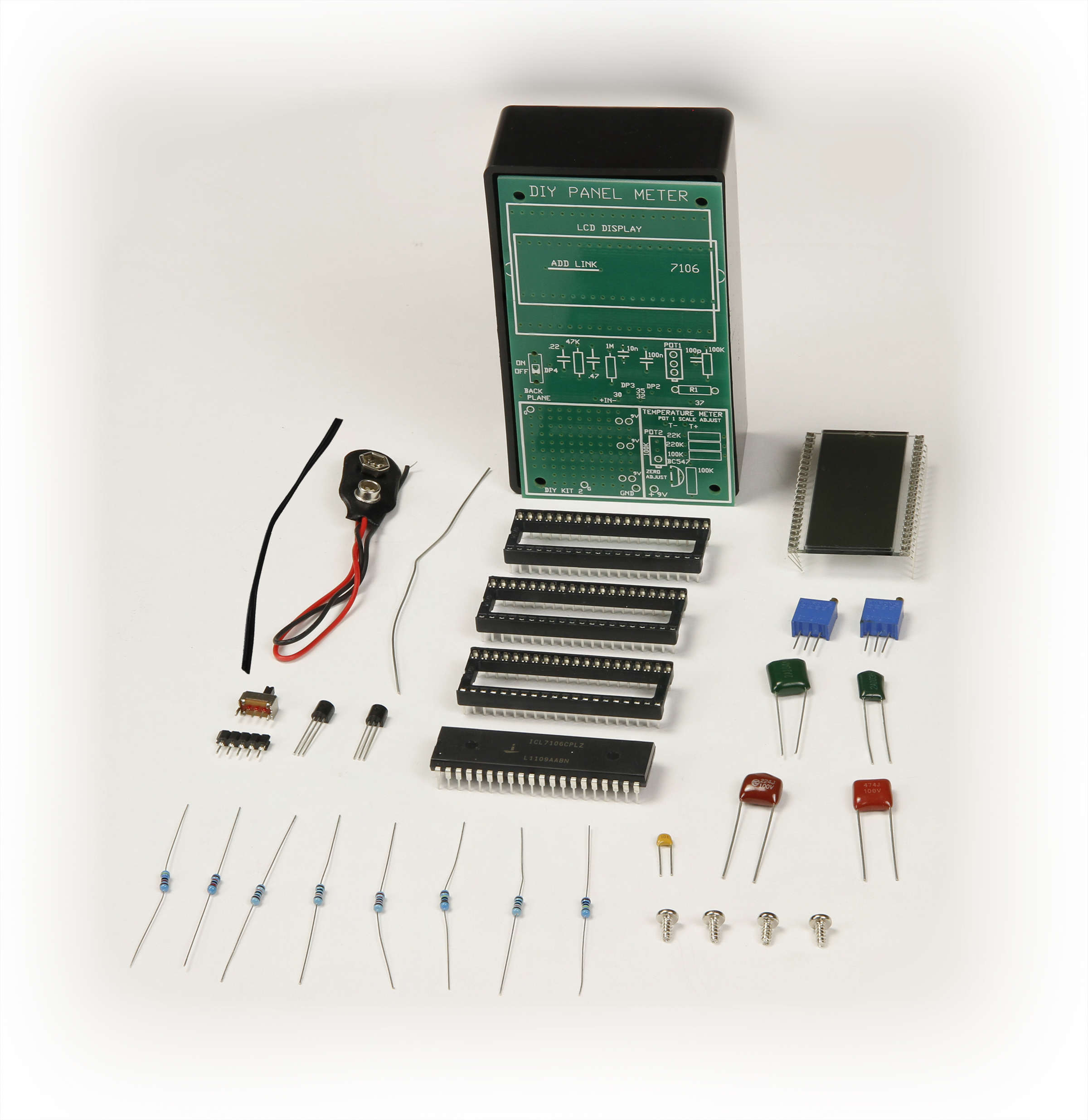 Global Specialties GSK-2 Temperature Meter Kit Photo