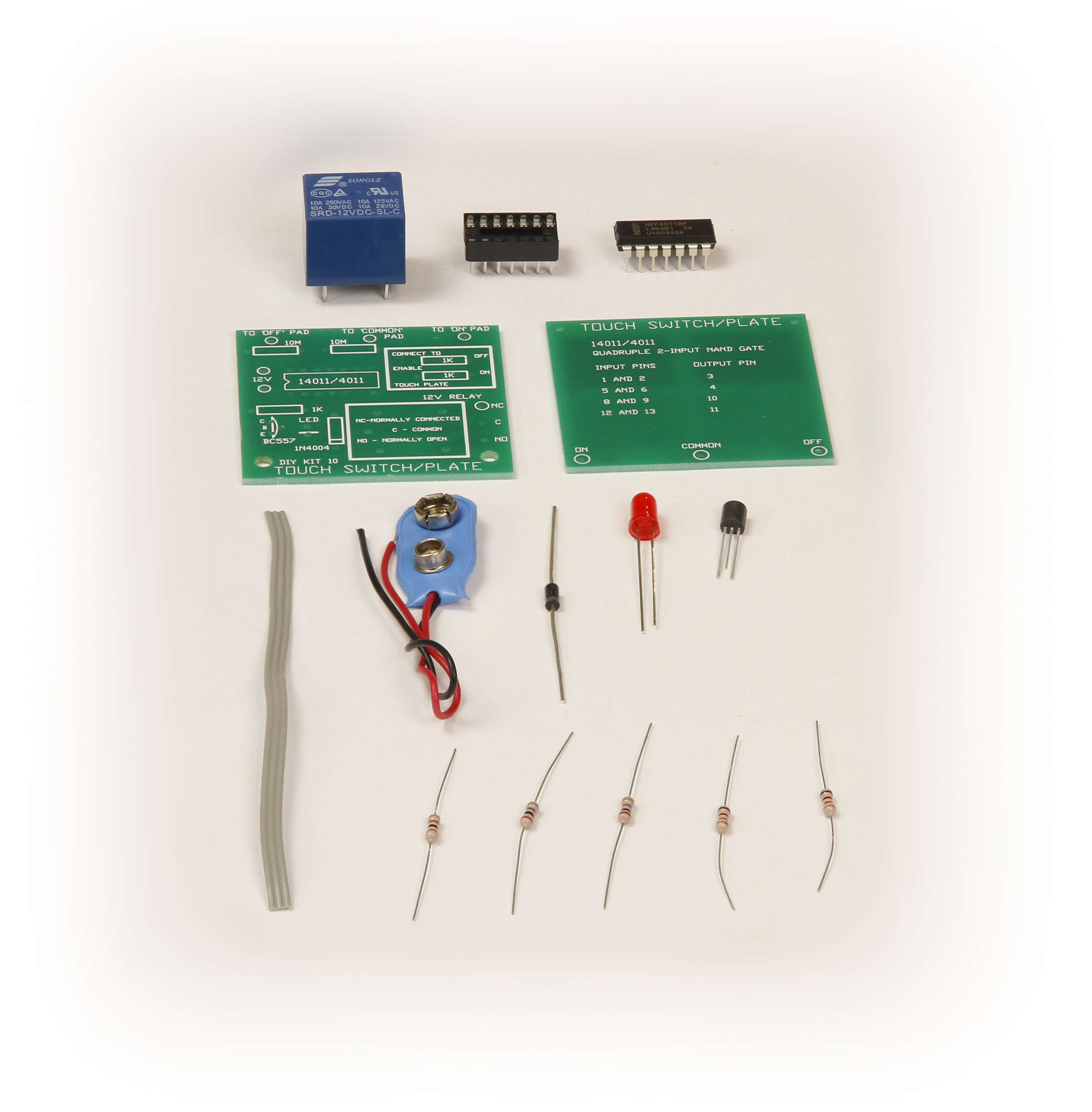 Global Specialties GSK-10 Touch Control Switch Kit Photo