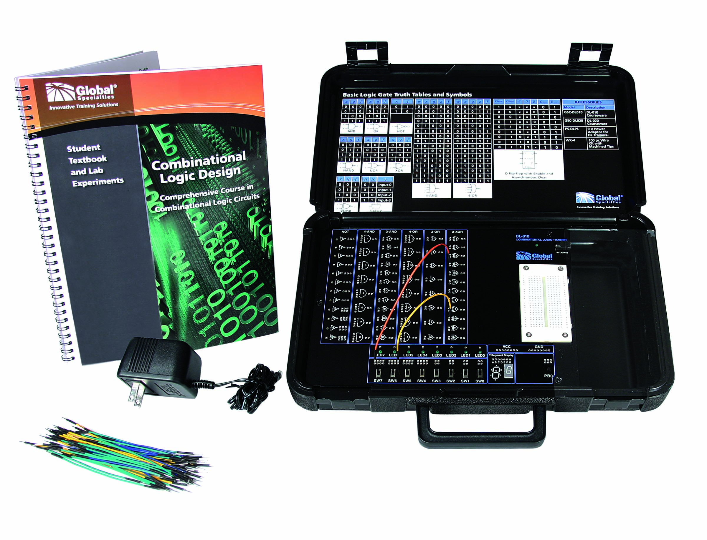 Global Specialties DL-010 Combinational Logic Trainer Photo