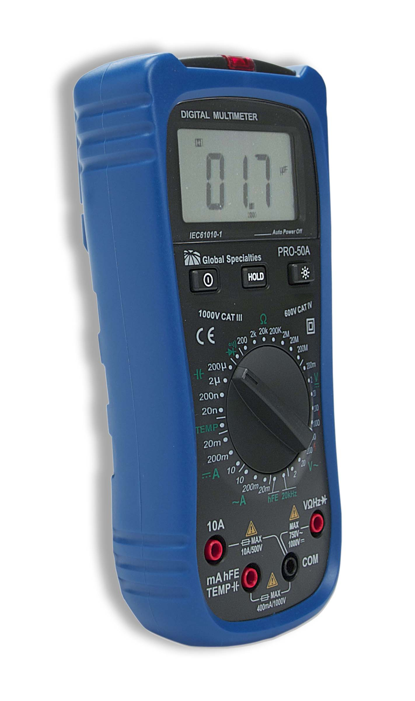 Global Specialties PRO-50A Handheld Digital Multimeter Photo