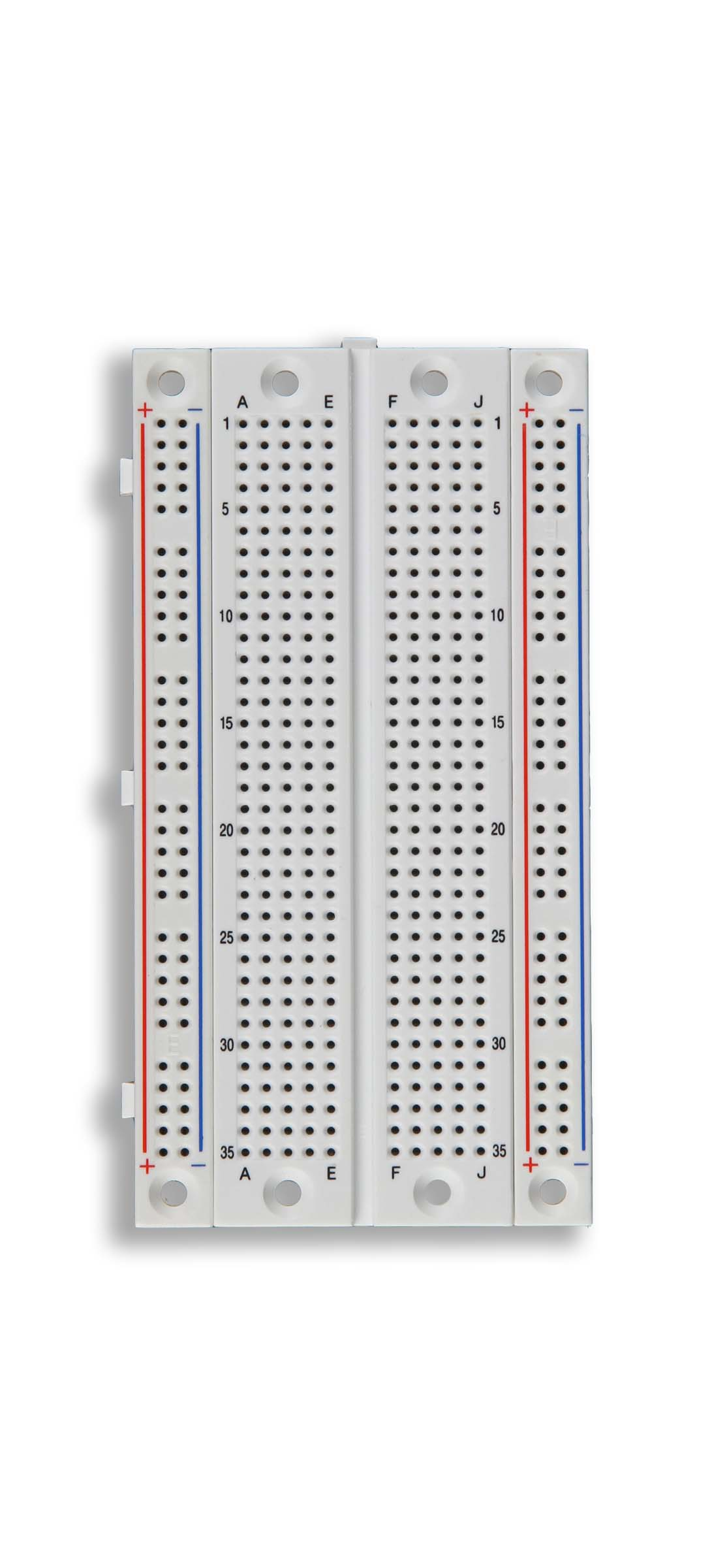 Global Specialties EXP-355 Solderless Breadboard, 470 Tie-Points Photo