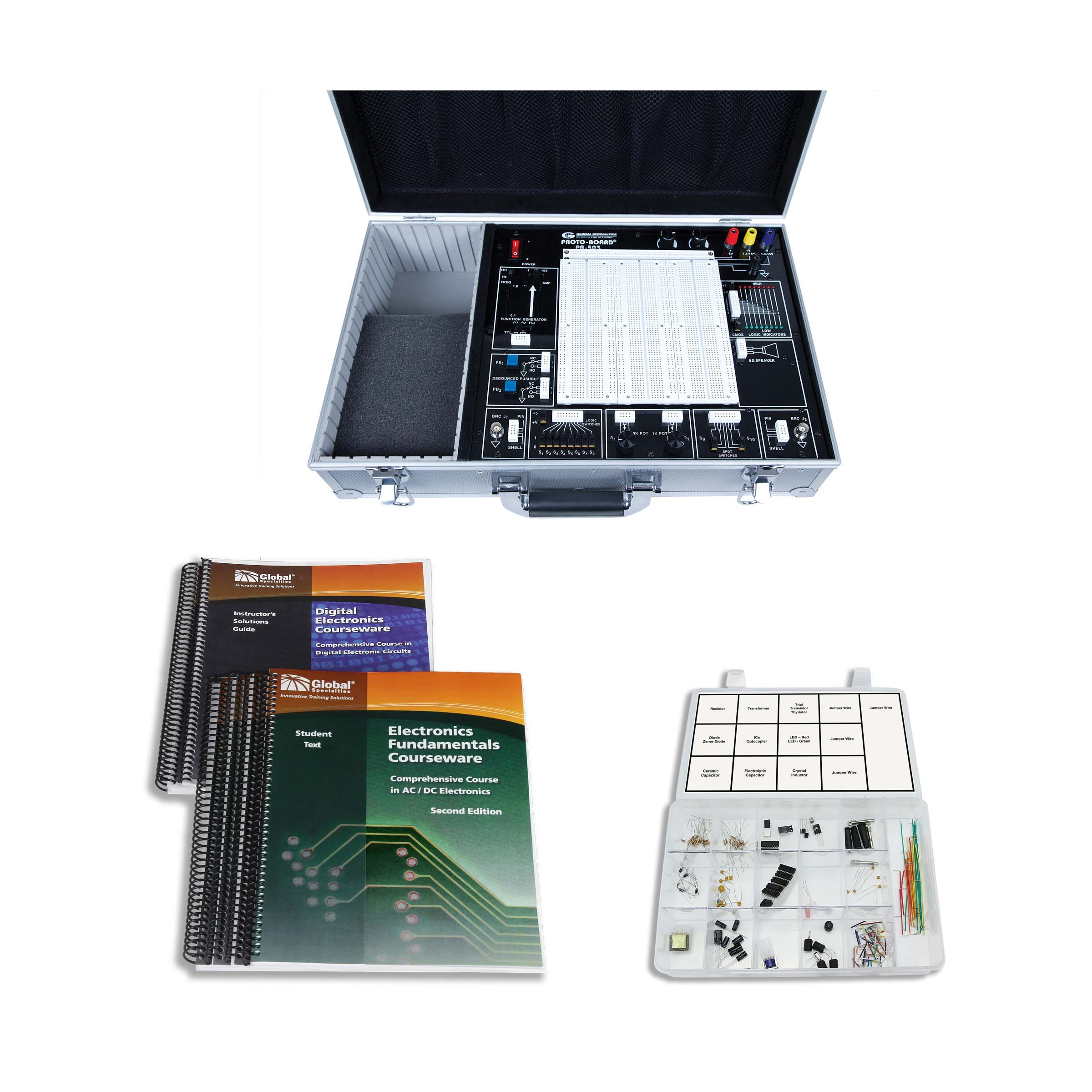 Global Specialties PB-503CLAB PB-503C Plus Courseware & Kit Photo