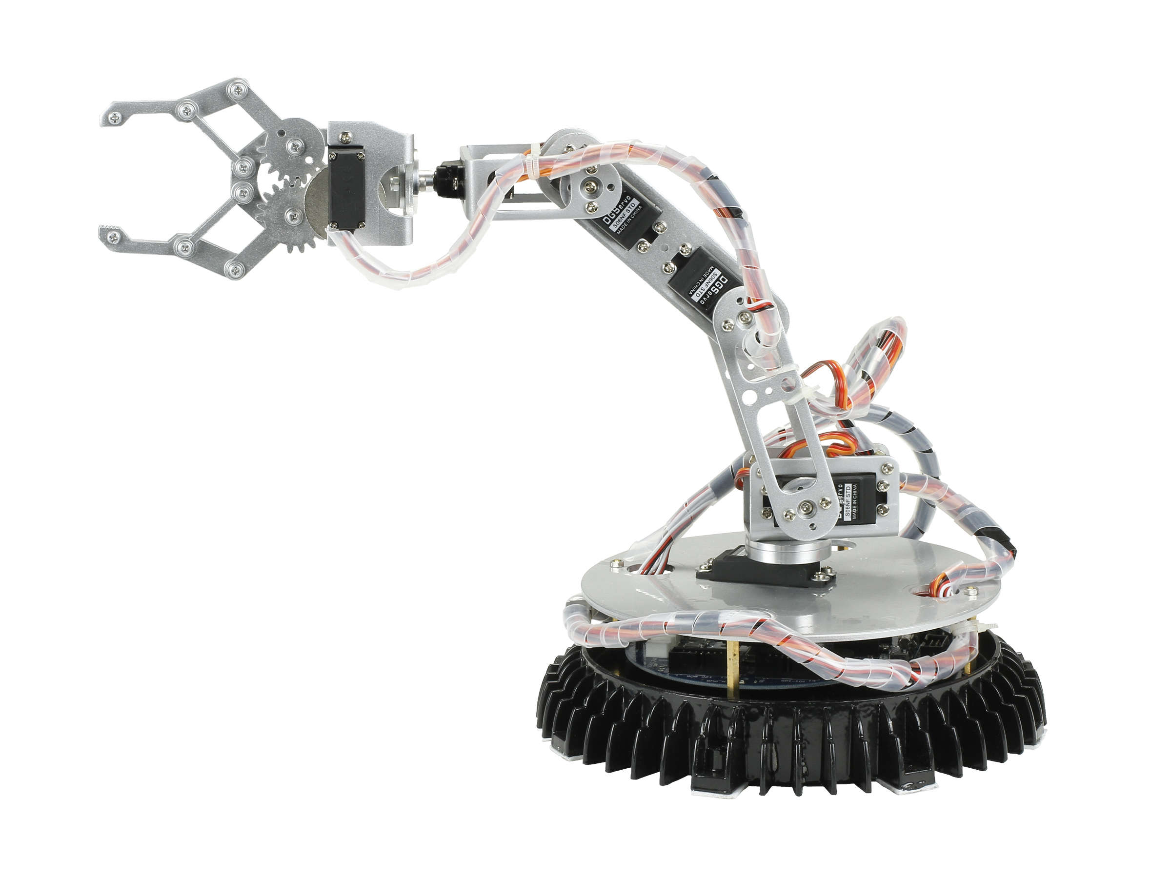 robotic arm Kids can now experience the fun of building their own miniature industrial robotic arm with vex robotics robotic arm this robot features two alternate builds for.