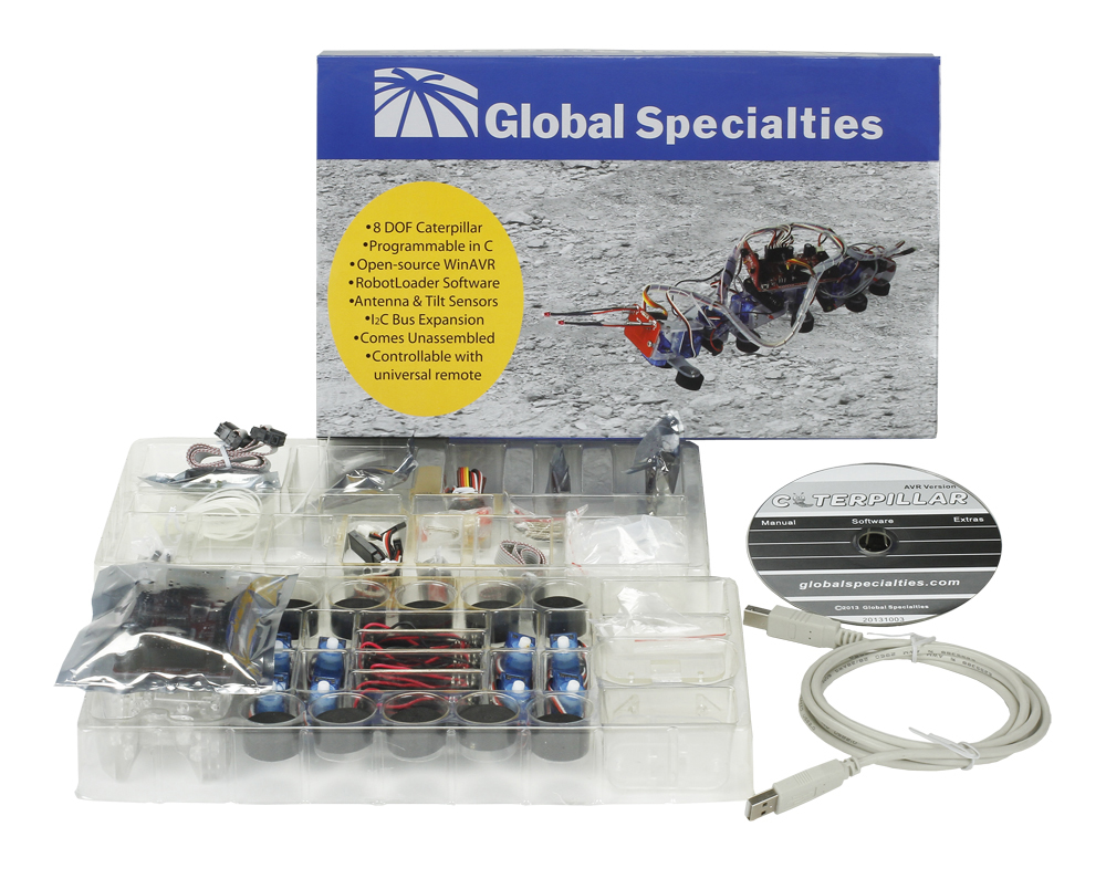 Global Specialties R500 Robotic Caterpillar Photo