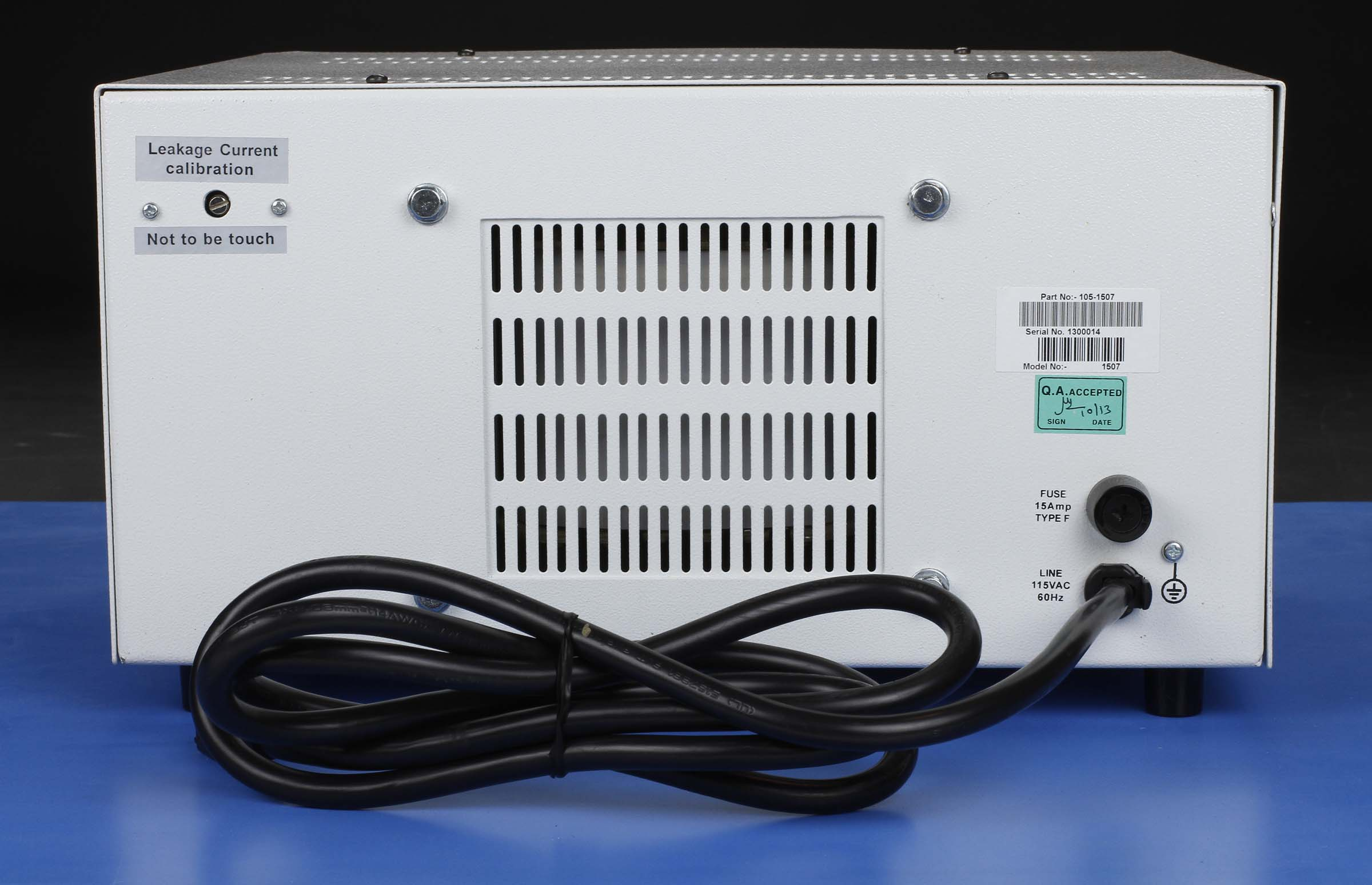 Global Specialties 1507 Variable AC Power Supply: 0-150V, 10A Photo