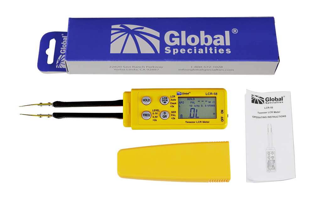 Global Specialties LCR-58 Tweezer LCR Meter with ESR Photo