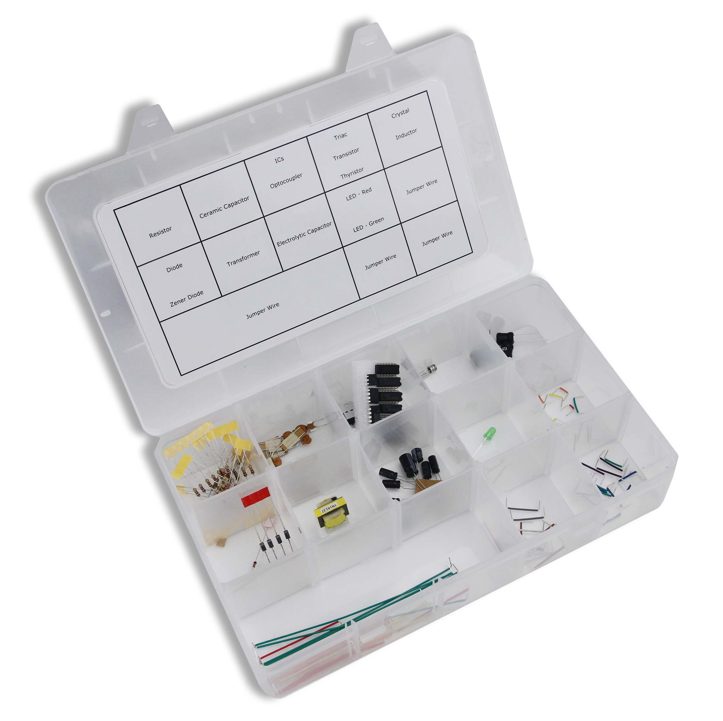 Global Specialties GSC-2311KIT Electronics Fundamentals 2nd Ed. Lab Kit Photo