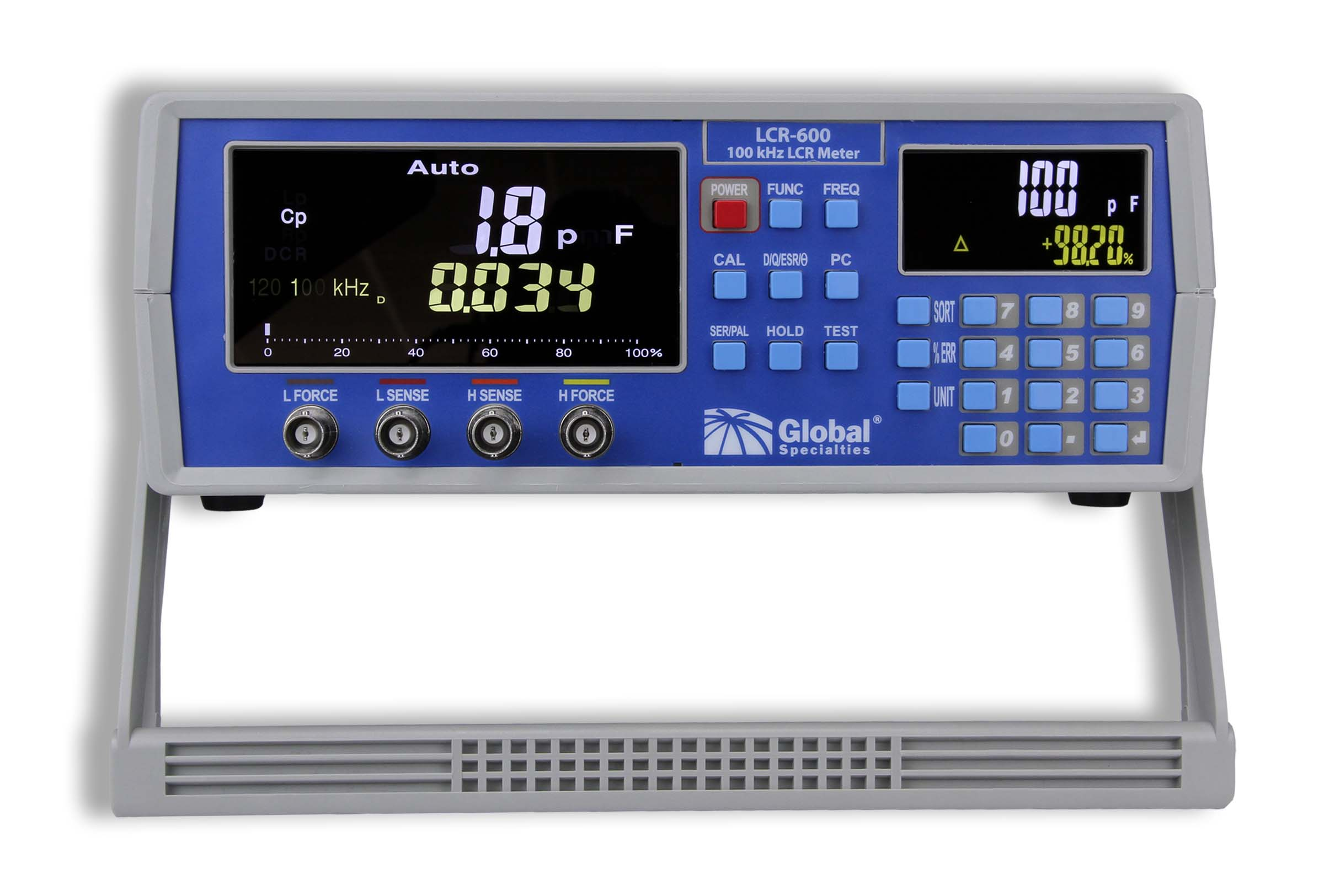Global Specialties LCR-600 100 kHz High Precision LCR Meter Photo