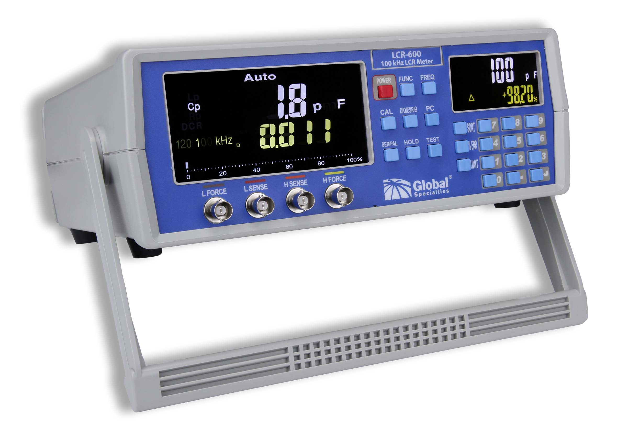 Using An Lcr Meter : Lcr khz high precision meter