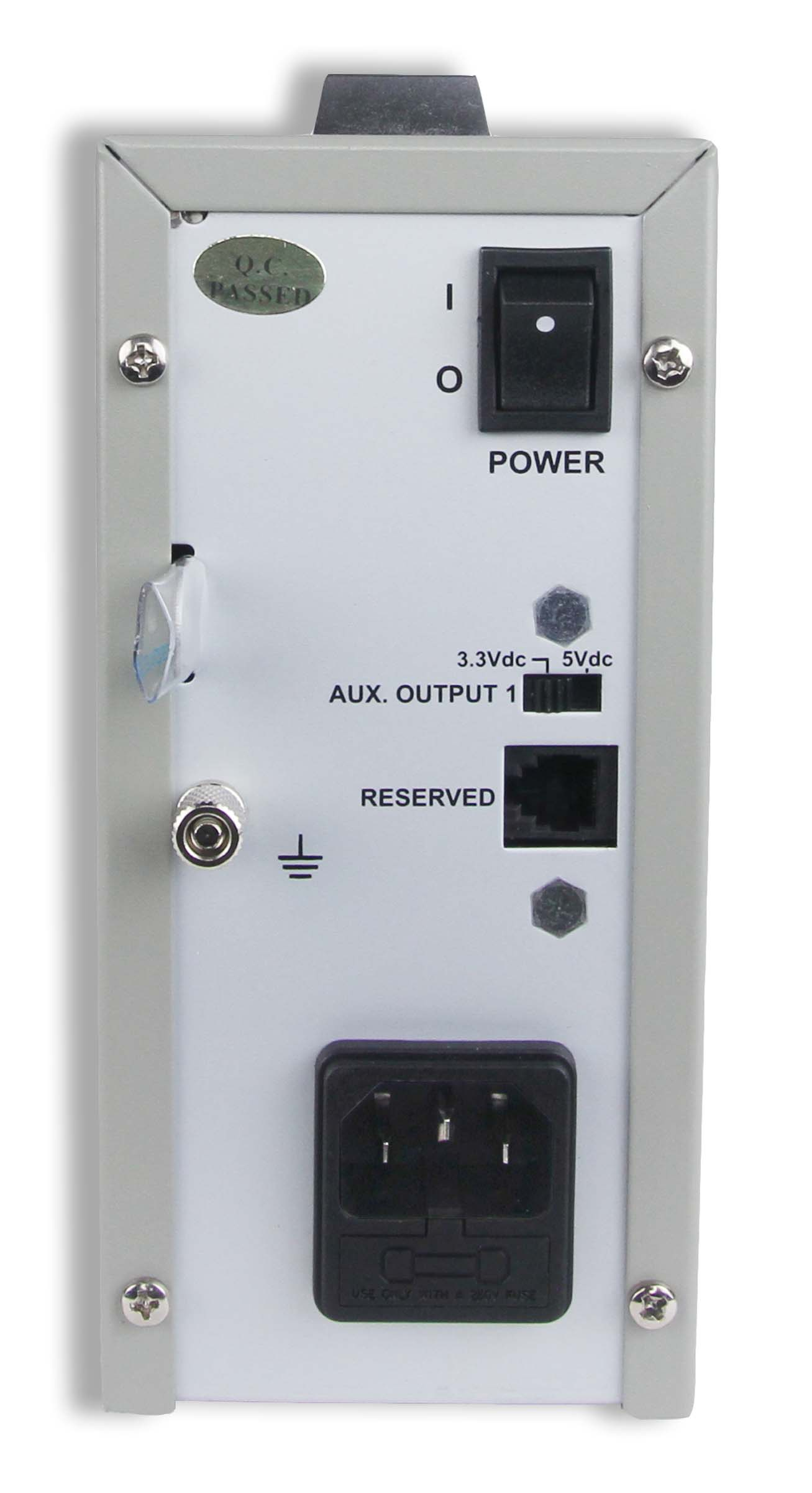 Global Specialties 1403 Triple Output Switching DC Power Supply: 1-20 V, 0