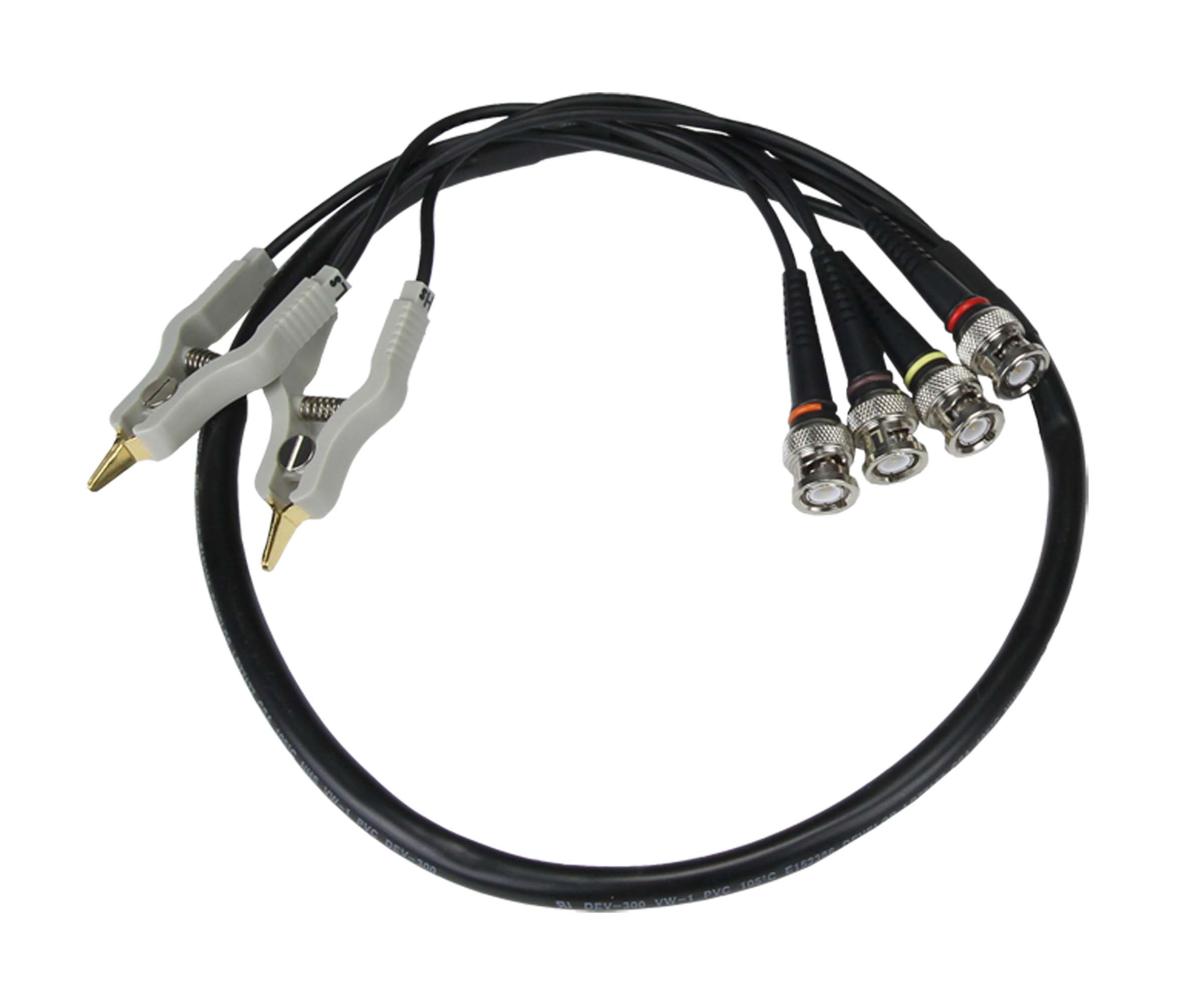 Global Specialties GSA-3746 BNC to Clip Test Lead for LCR-600 Photo
