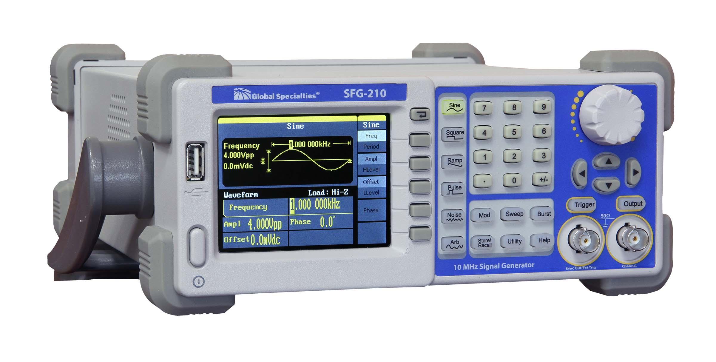 Global Specialties SFG-210 10 MHz Arbitrary/Function Signal Generator  Photo