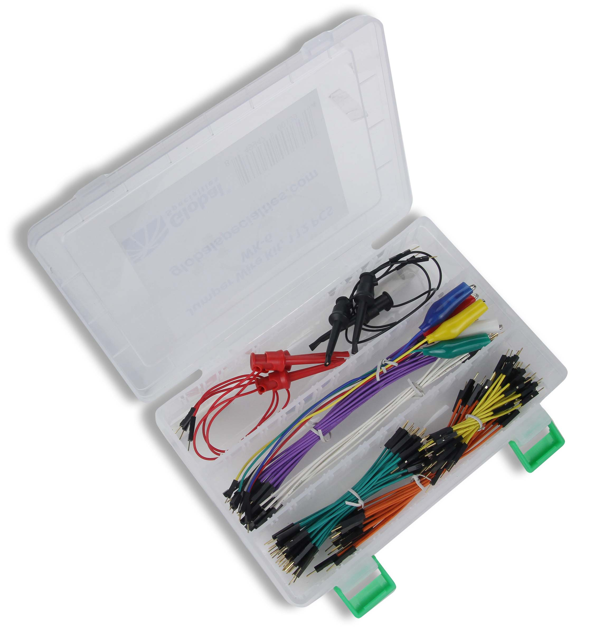 Global Specialties WK-6 Jumper Wire Kit, 112 Pcs Photo